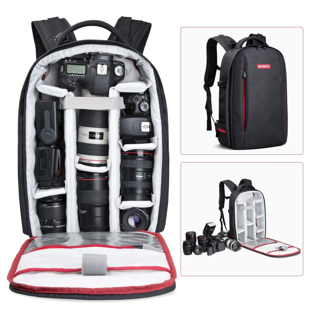 Beschoi backpack for photography gear