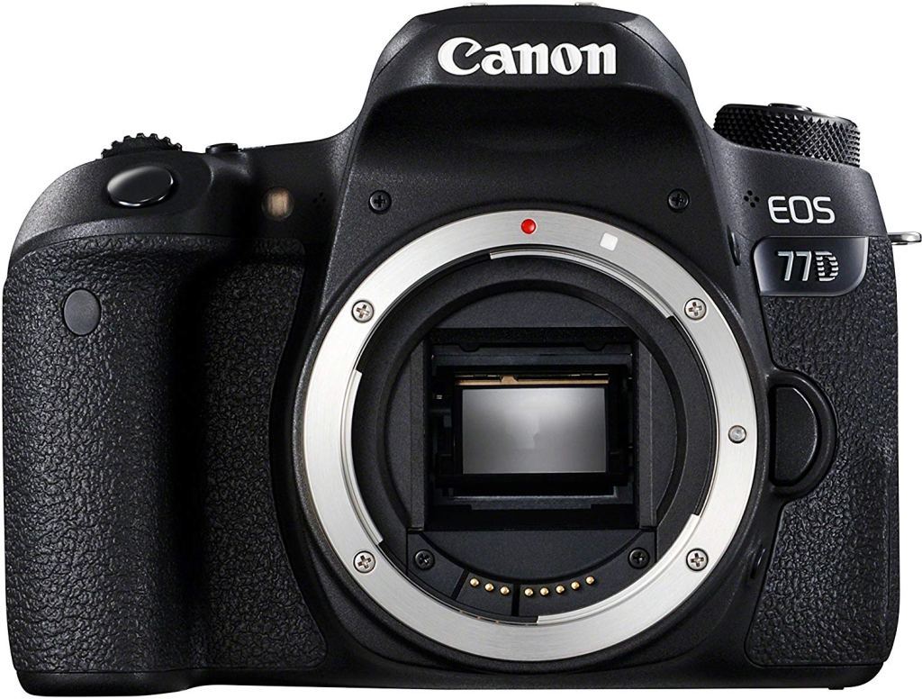Canon 77D reflex camera body