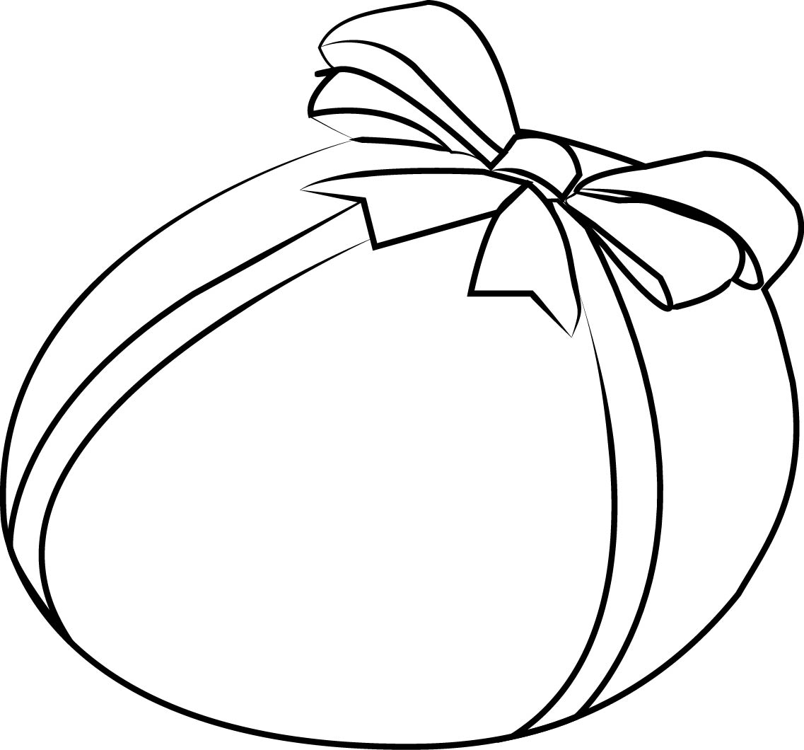 Easter Egg T Coloring Page