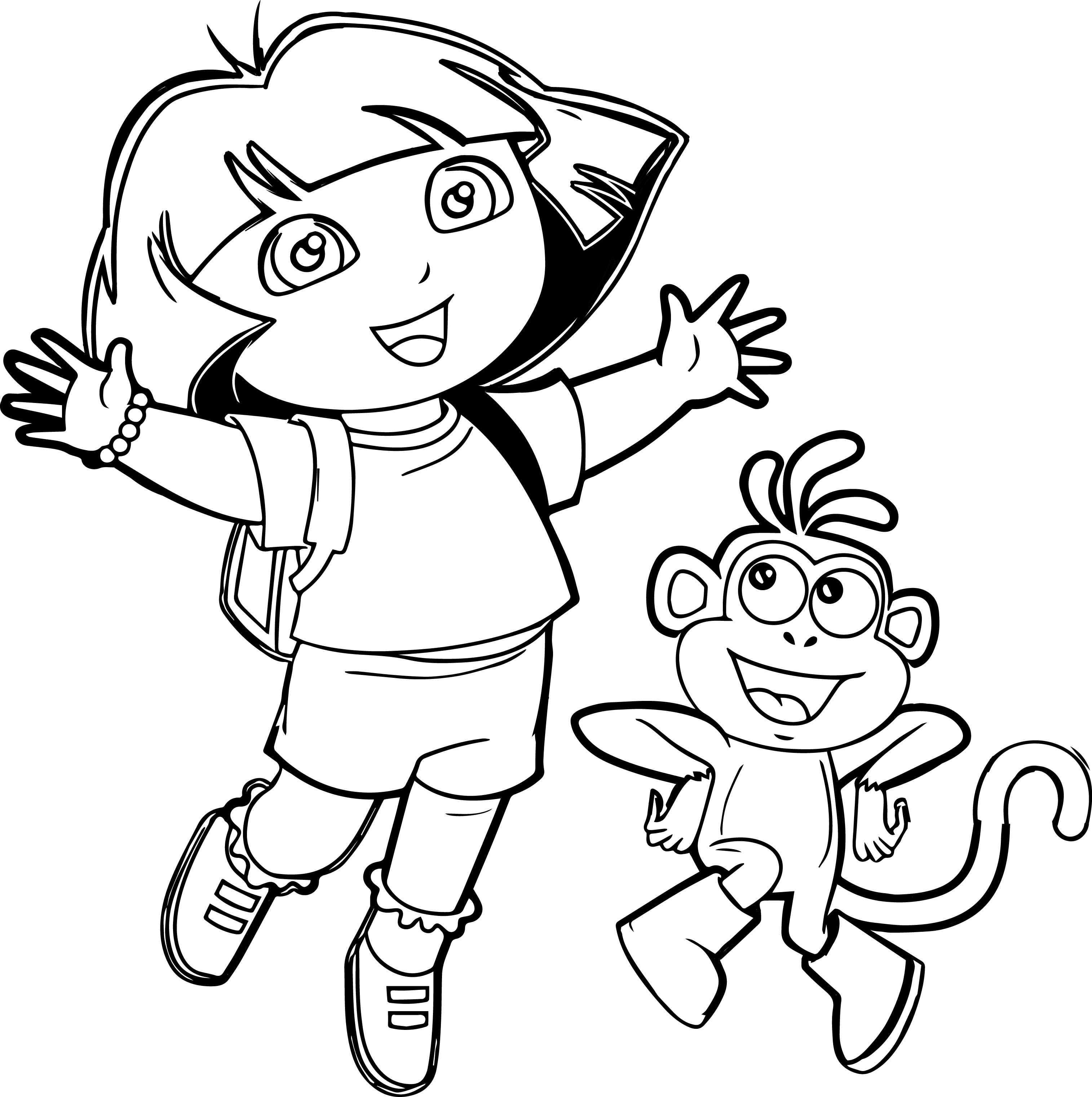 Dora Cartoon Picture