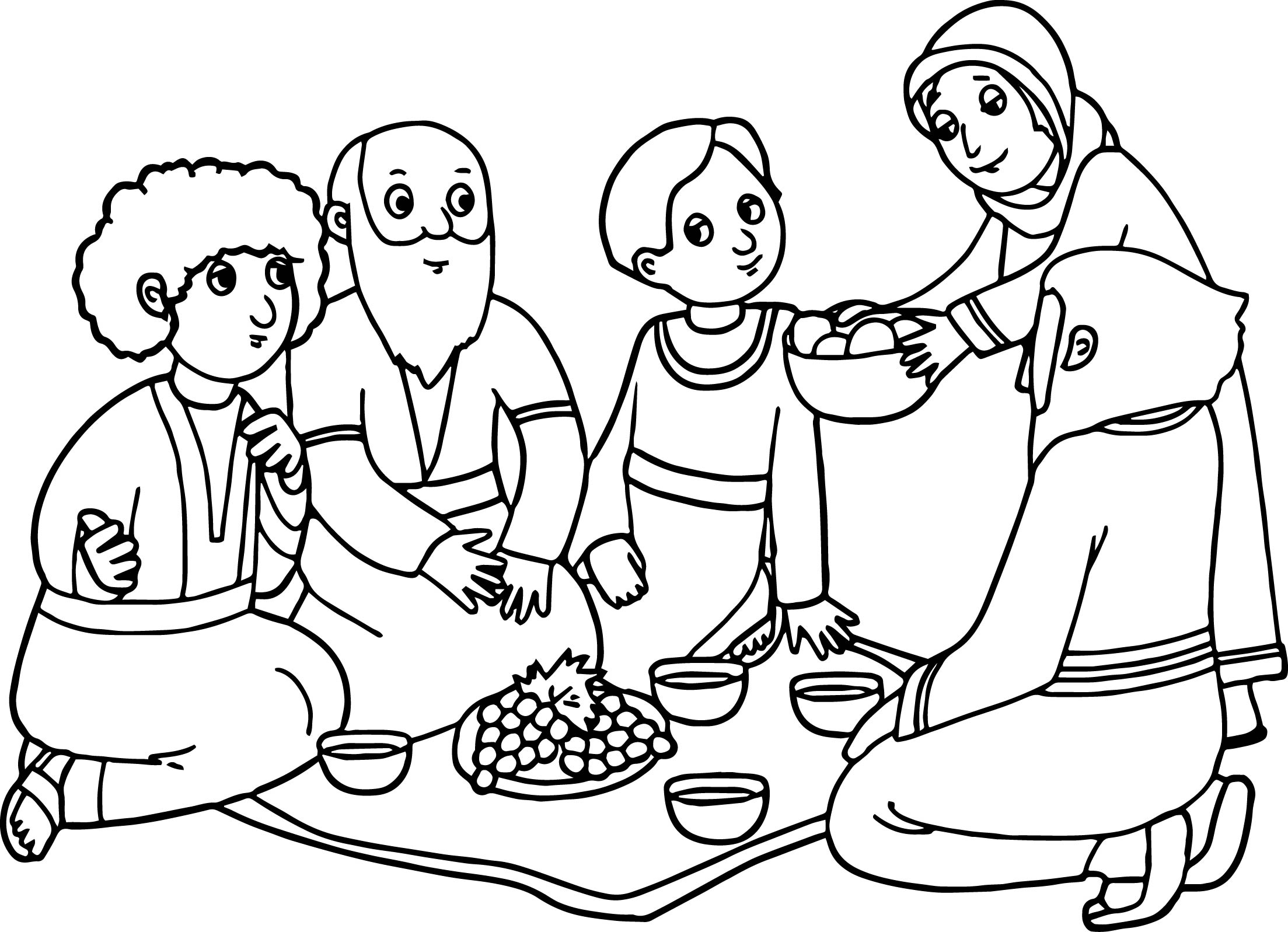 Sarah Coloring Pages
