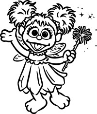 Abby Cadabby Coloring Pages | Wecoloringpage.com