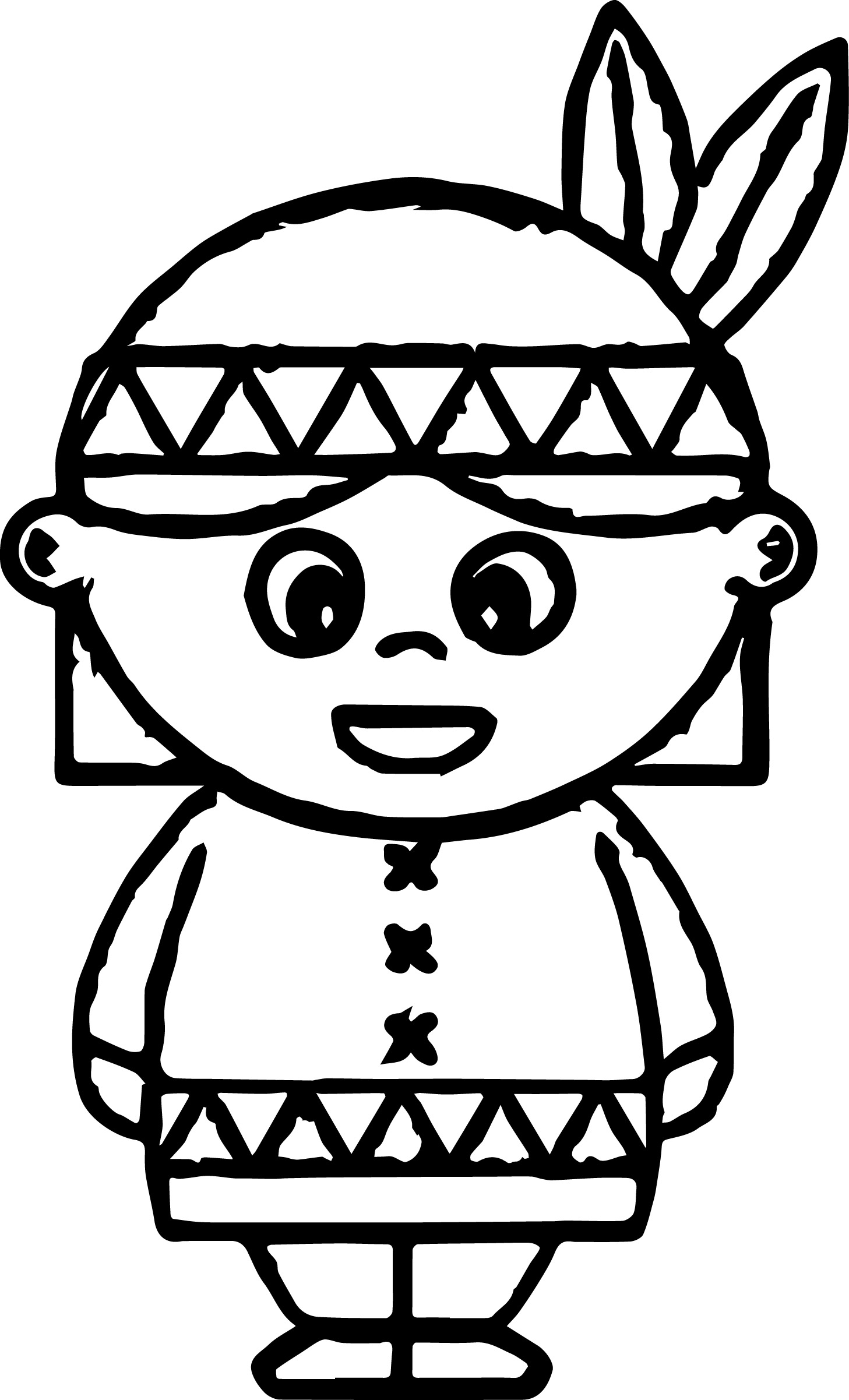 American Indian Coloring Pages Wecoloringpage