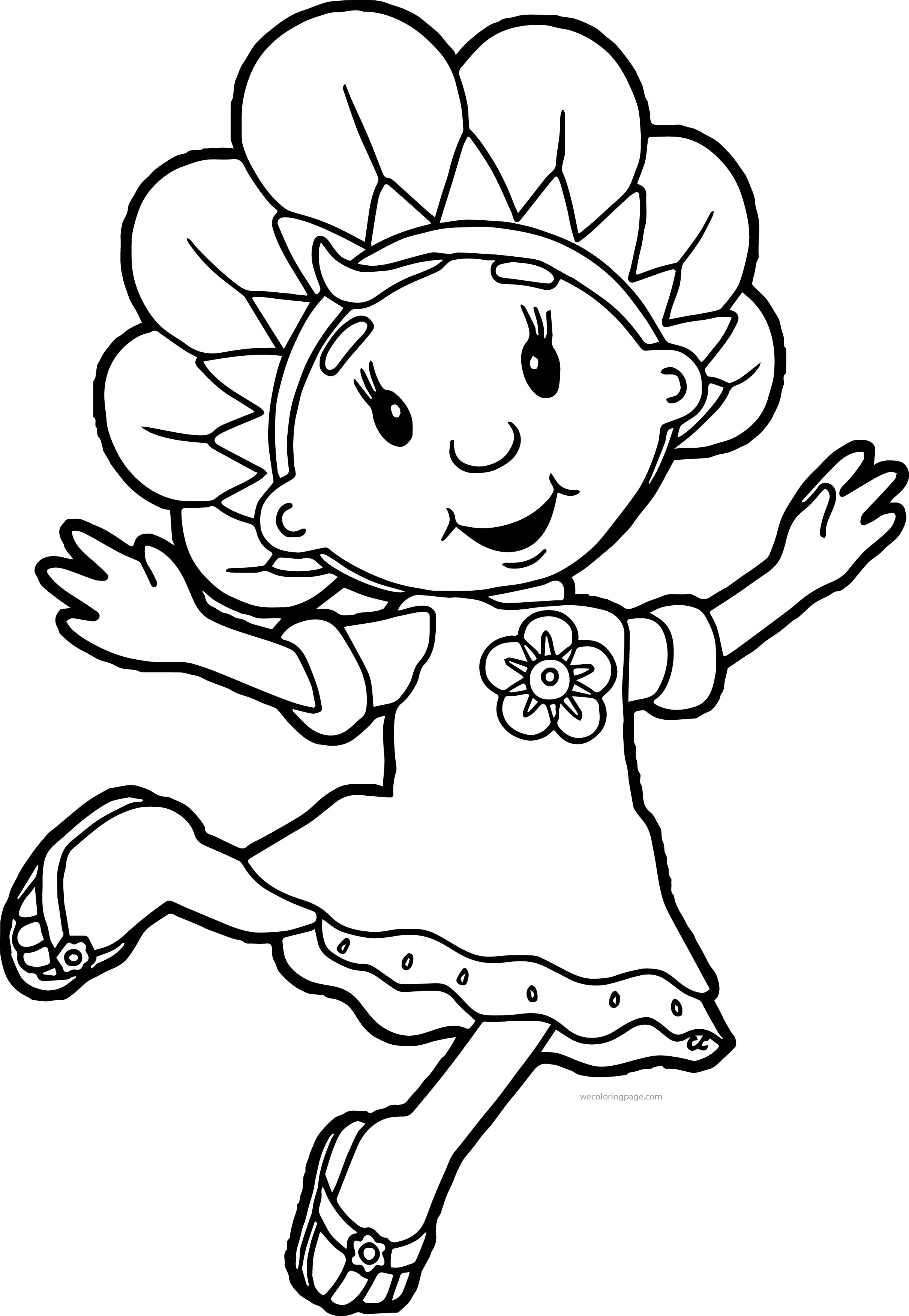 Fifi And The Flowertots Coloring Pages