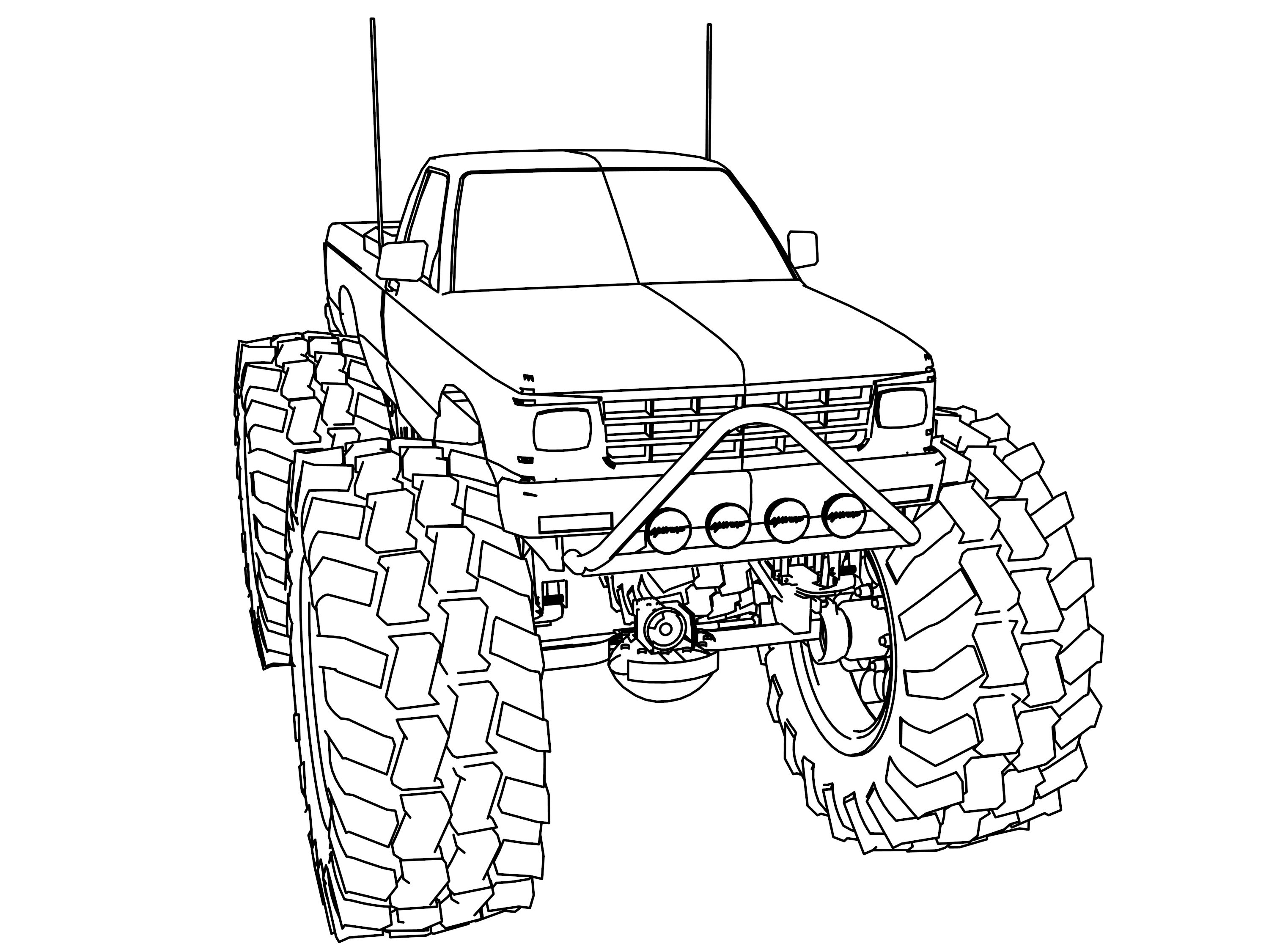 S10 Truck Coloring Coloring Pages