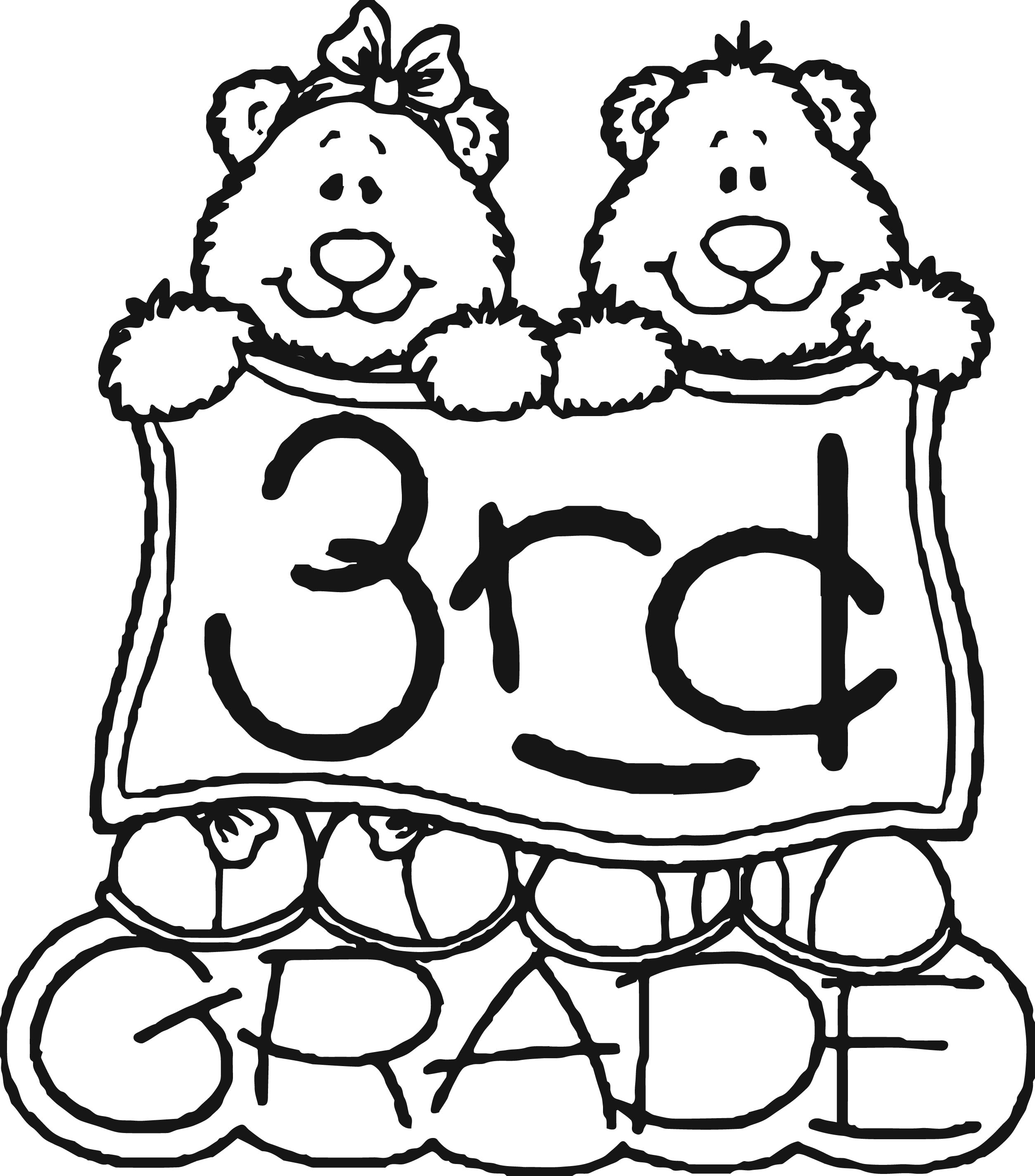 Welcome To 3rd Grade Coloring Sheets Coloring Pages