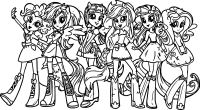My Little Pony Friendship Is Magic Easter Coloring Pages ...