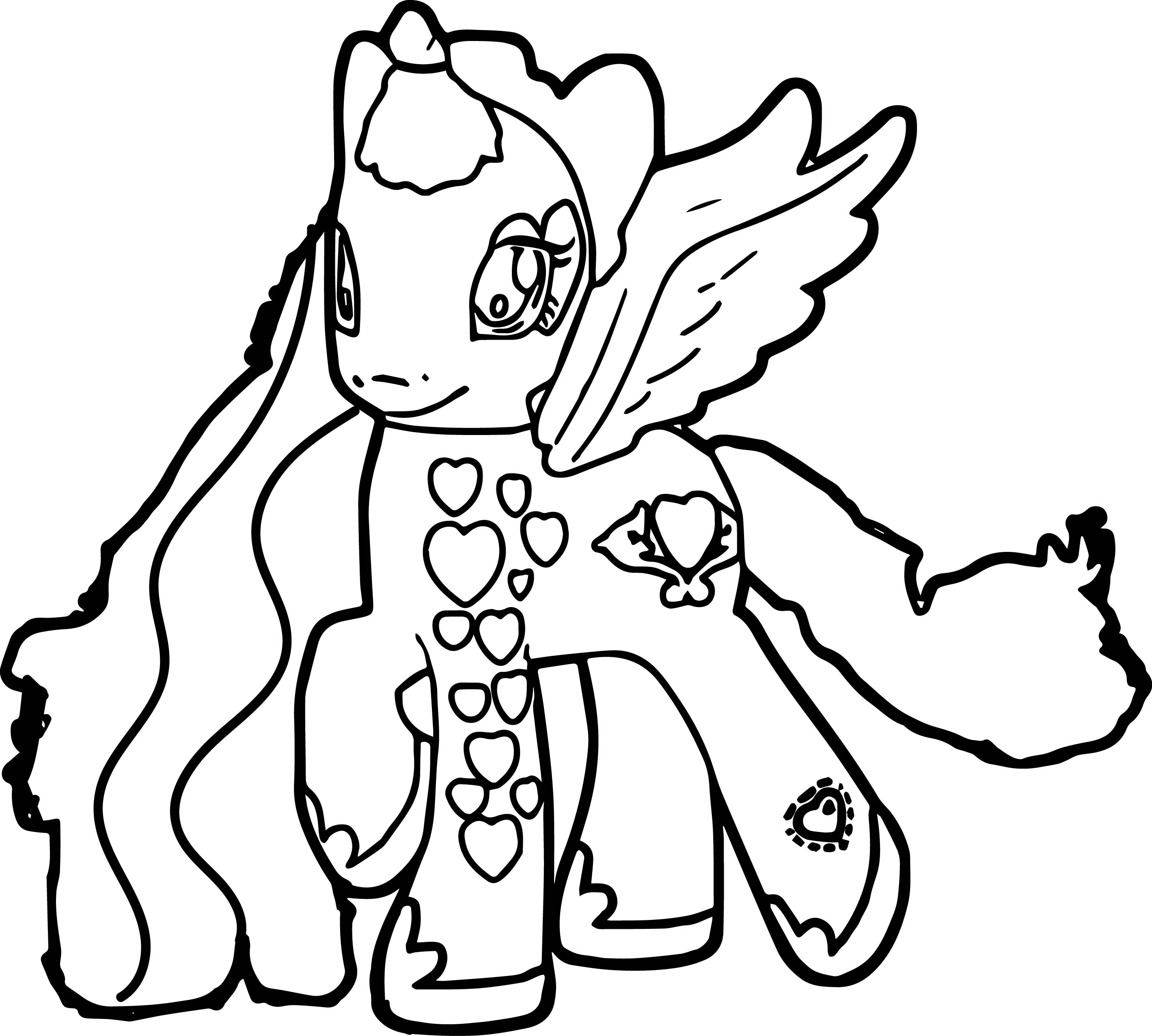 Perfect My Little Pony Coloring Page Wecoloringpage