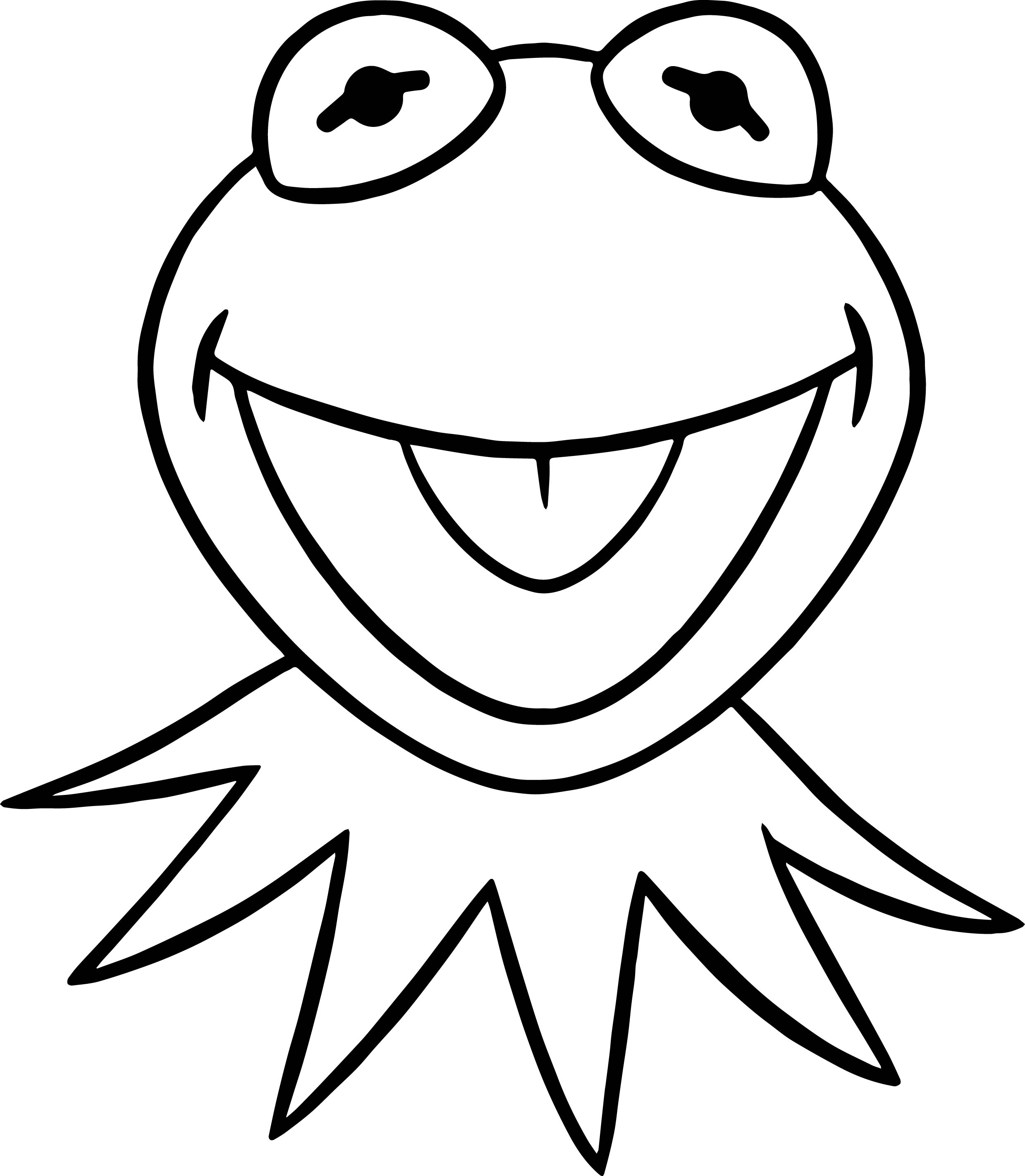 Kermit The Frog Coloring Pictures