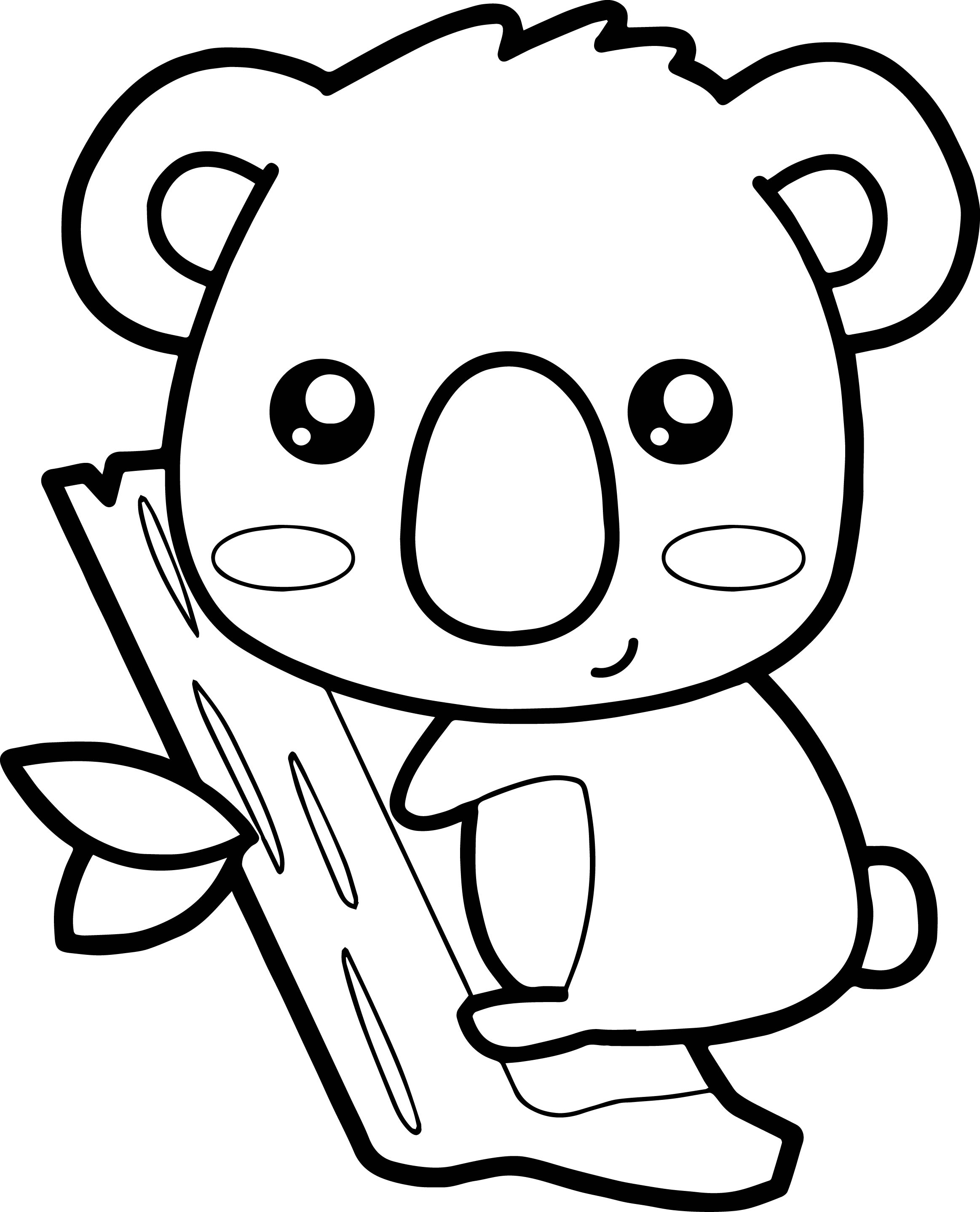 Koala Coloring Page Adult An Otter From Animals An Adult Coloring
