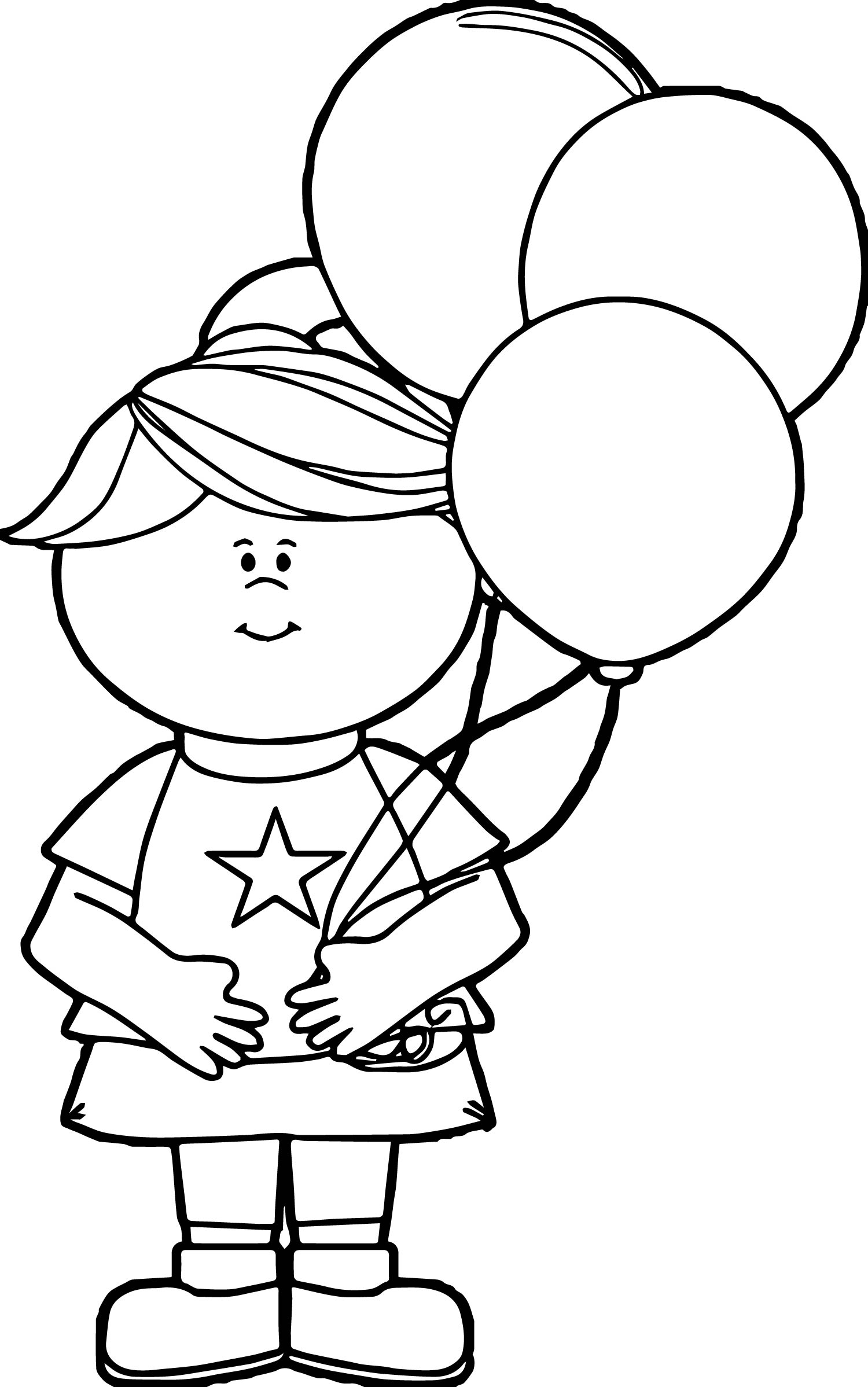 Balloons Coloring Pages 4 Coloring Pages