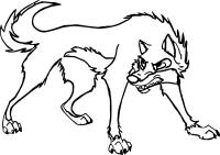 Balto Wolf Coloring Pages Sketch Coloring Page