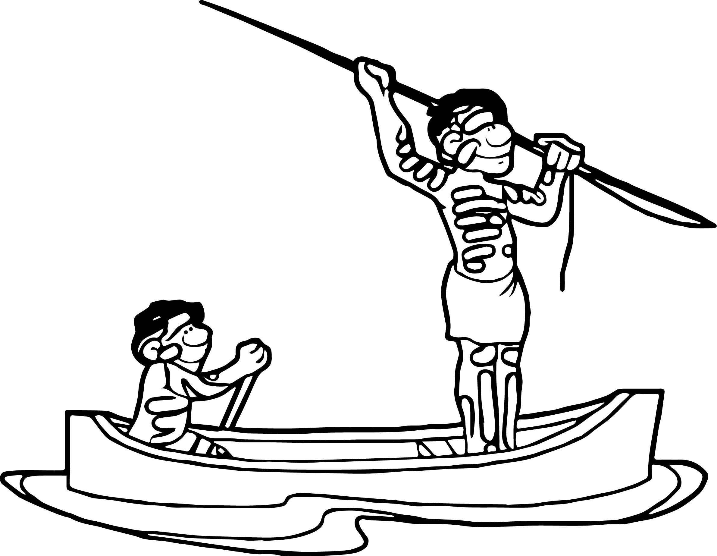 Aboriginal People Coloring Page Coloring Pages
