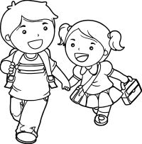 Boy And Girl Coloring Pages | www.pixshark.com - Images ...