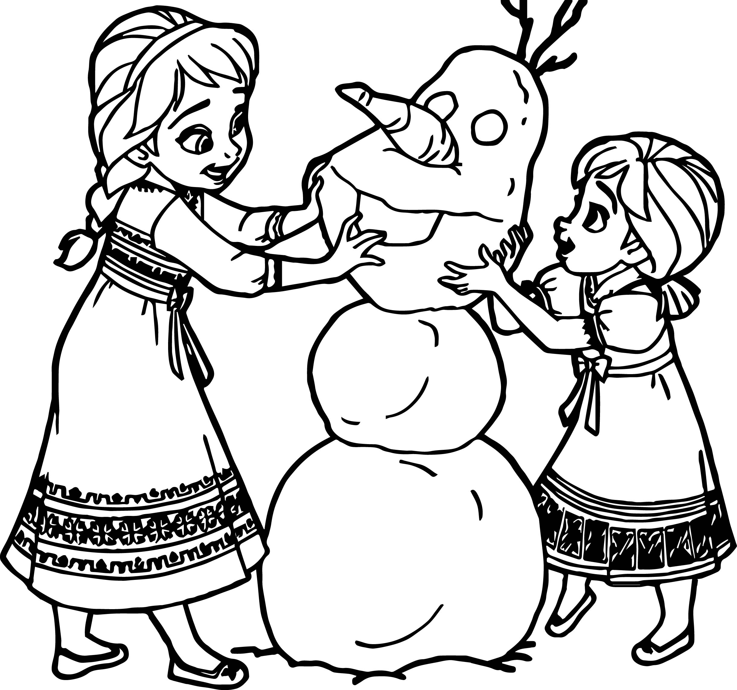 coloring book ~ Elsadna Coloring Book Pages Frozen Baby Games For ... | 2287x2442