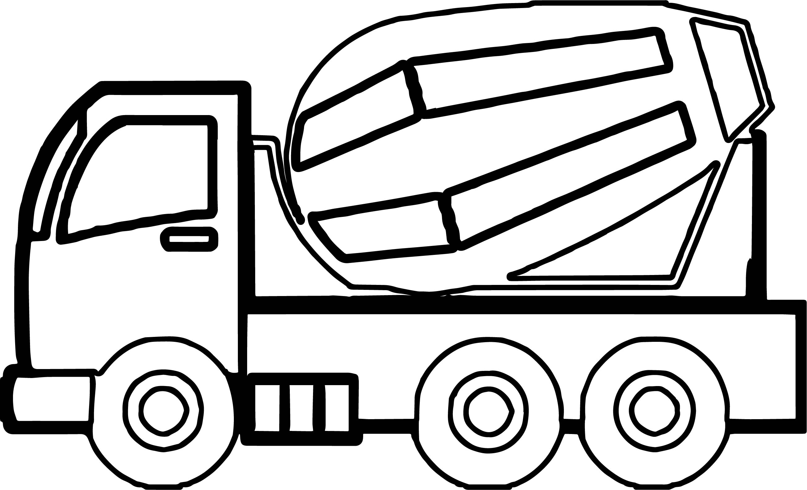Amazing Printable Dump Truck Coloring Pages For Kids