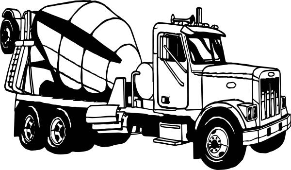 big truck coloring pages # 73
