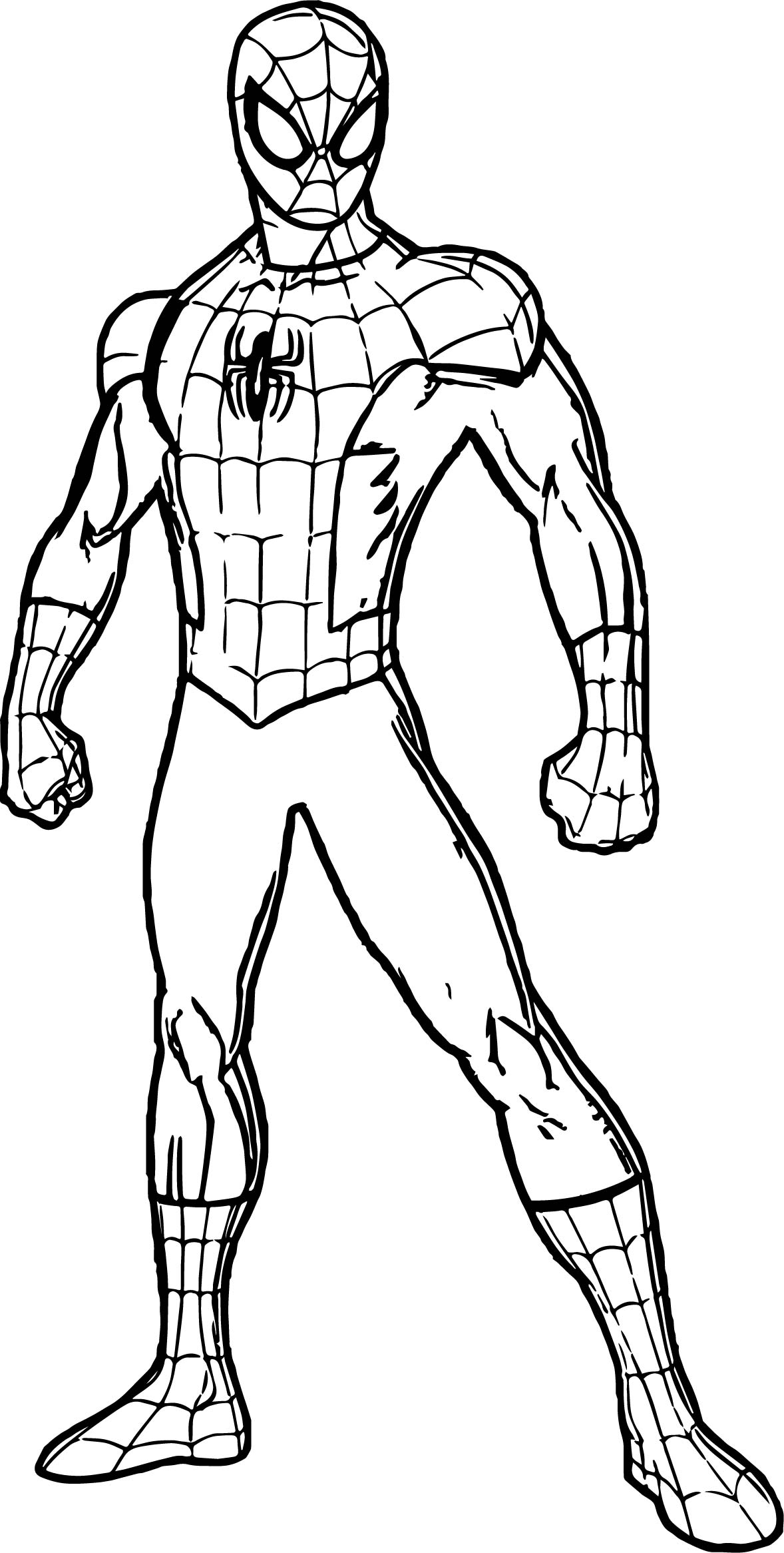 Coloring Pages Spiderman Games Coloring Page