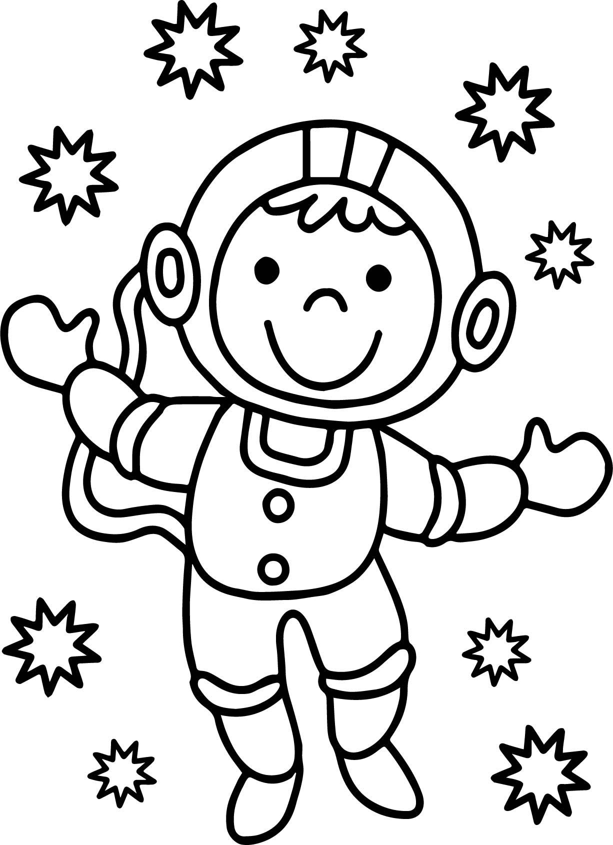free astronaut printables - HD1226×1690