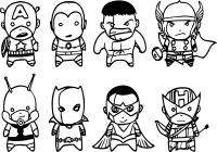 Lego Avengers Printable Coloring Pages Thestout - Avengers ...