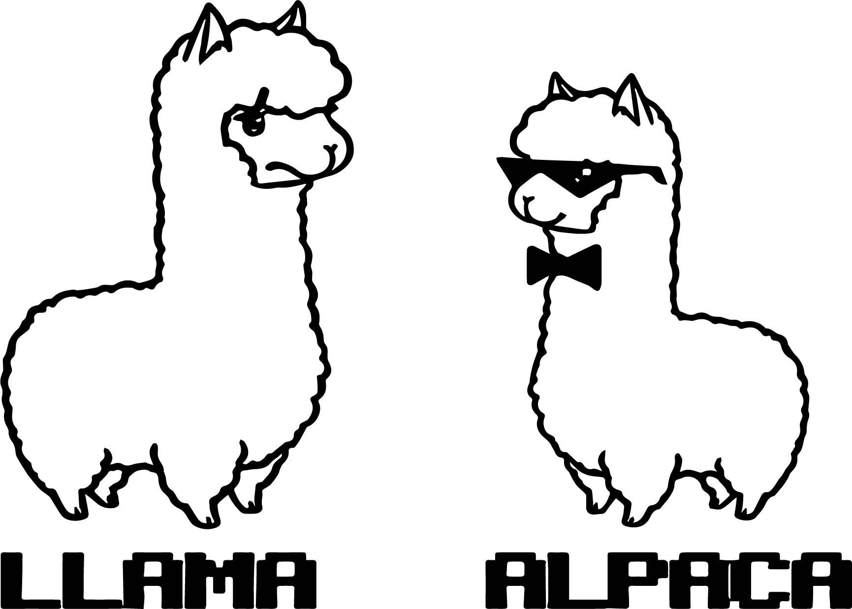 best llama coloring pages coloring page leaping llamas
