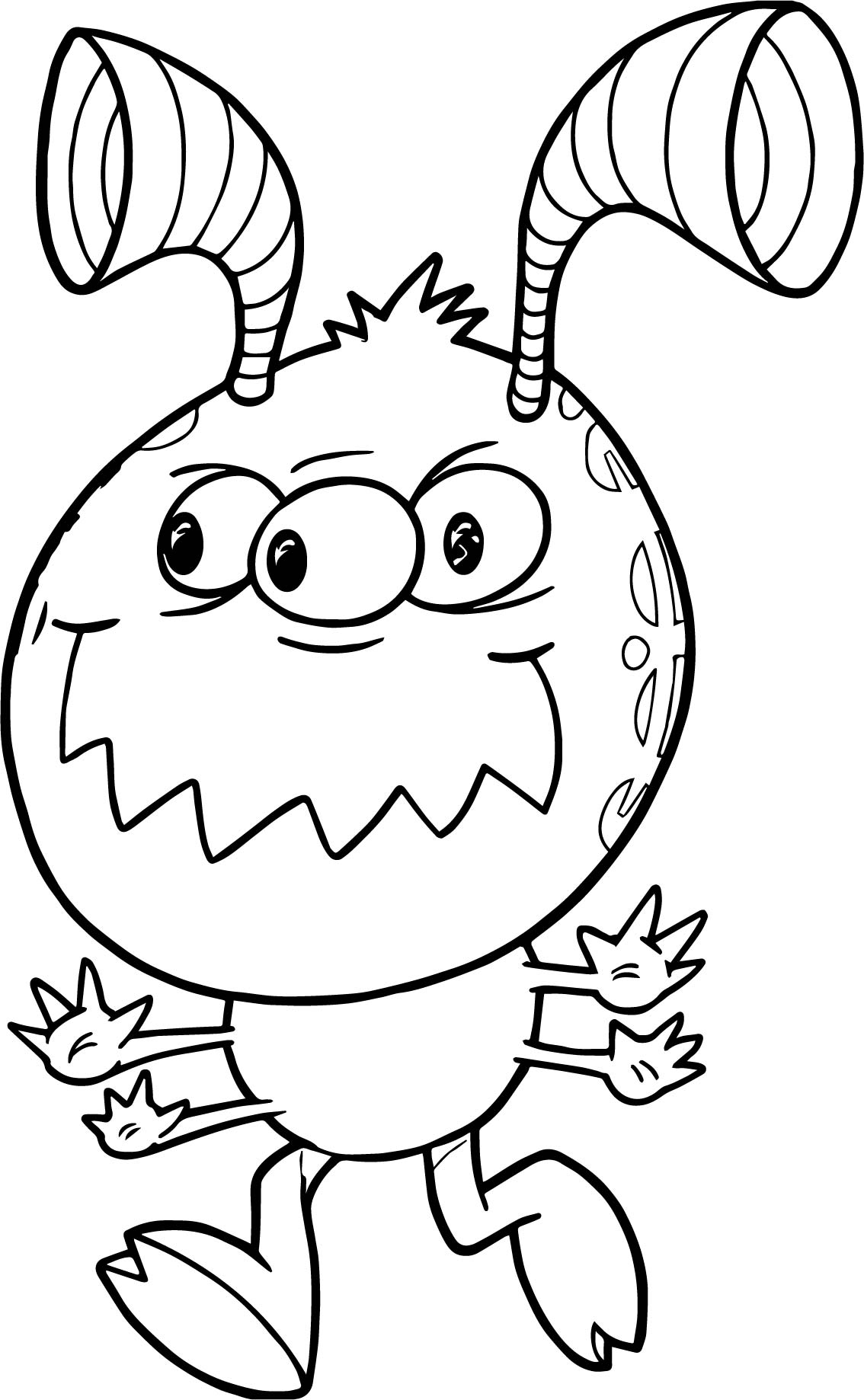 Alien Face Mask Coloring Page Coloring Pages