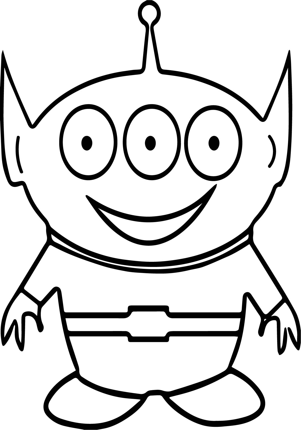 Big Eyeball Coloring Pages