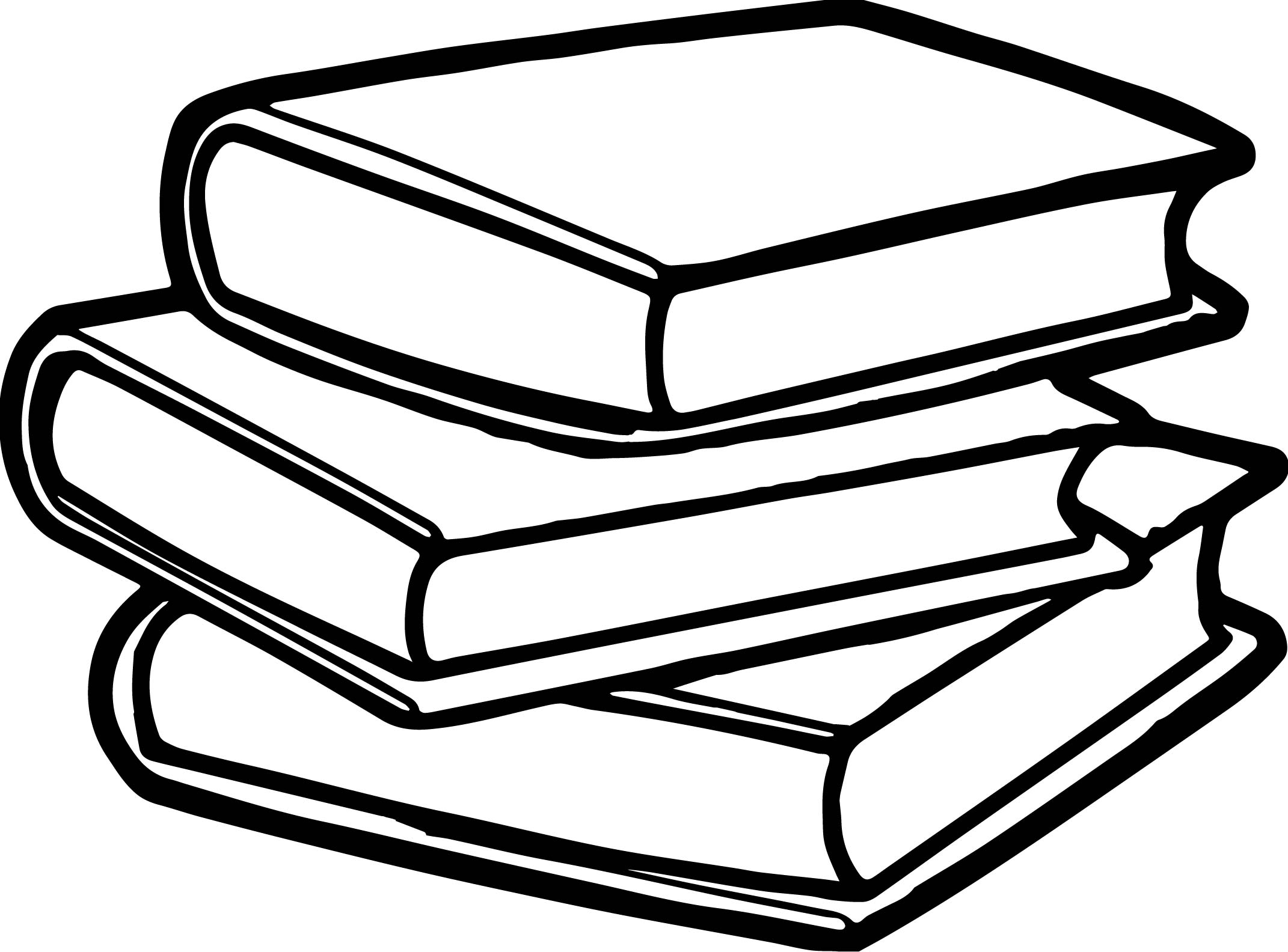 Abc Books Coloring Page