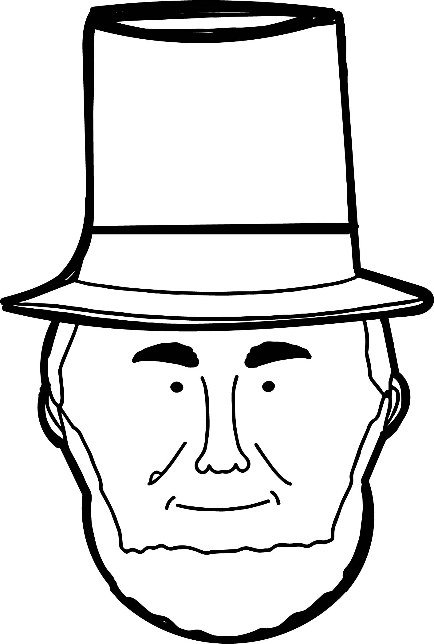 Lincoln Coloring Pages