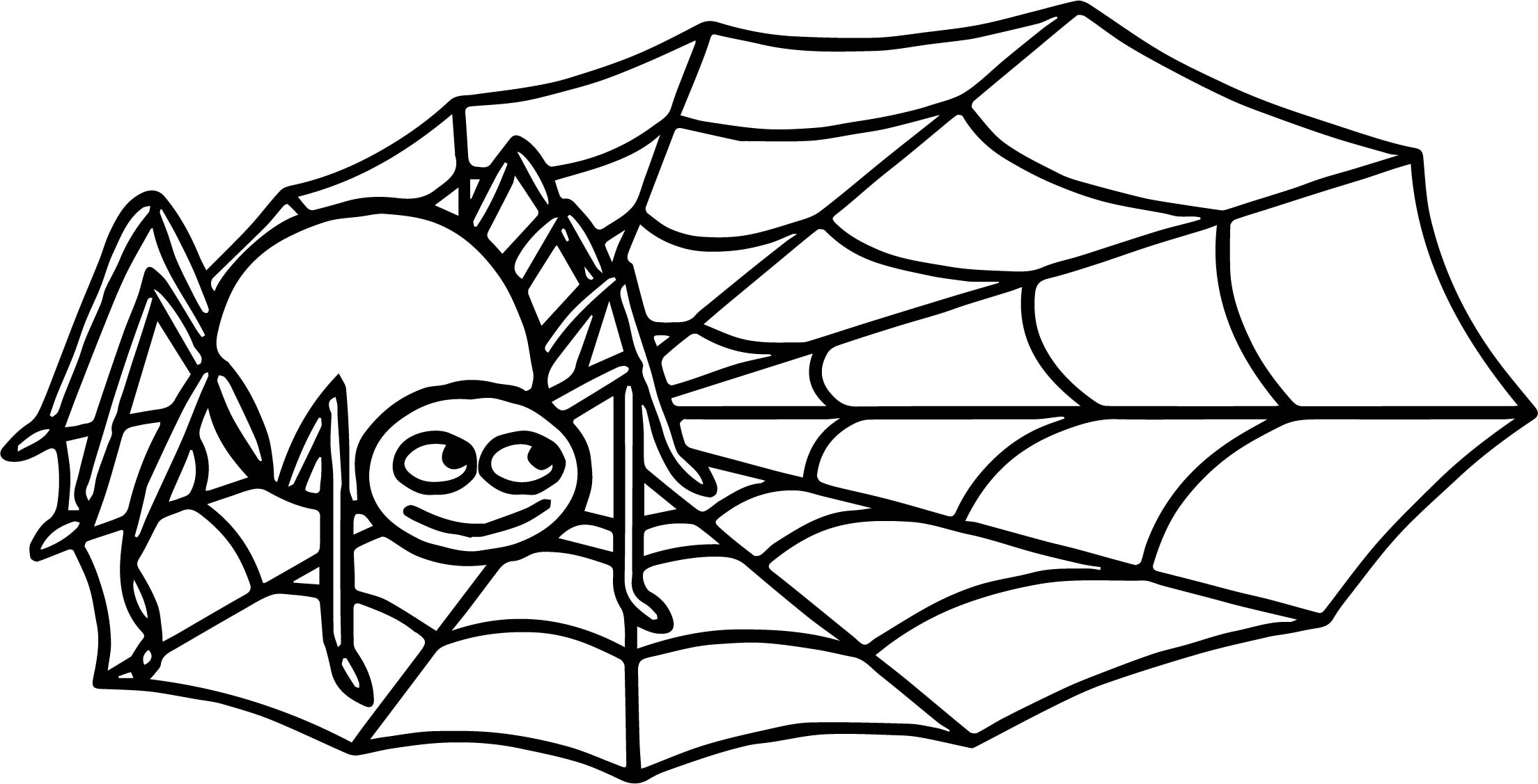 Anansi Spider Coloring Page