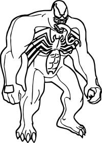 Childrens coloring pages spiderman and venom ~ Disegni Da Colorare Venom | Disegni Da Stampare Spiderman ...