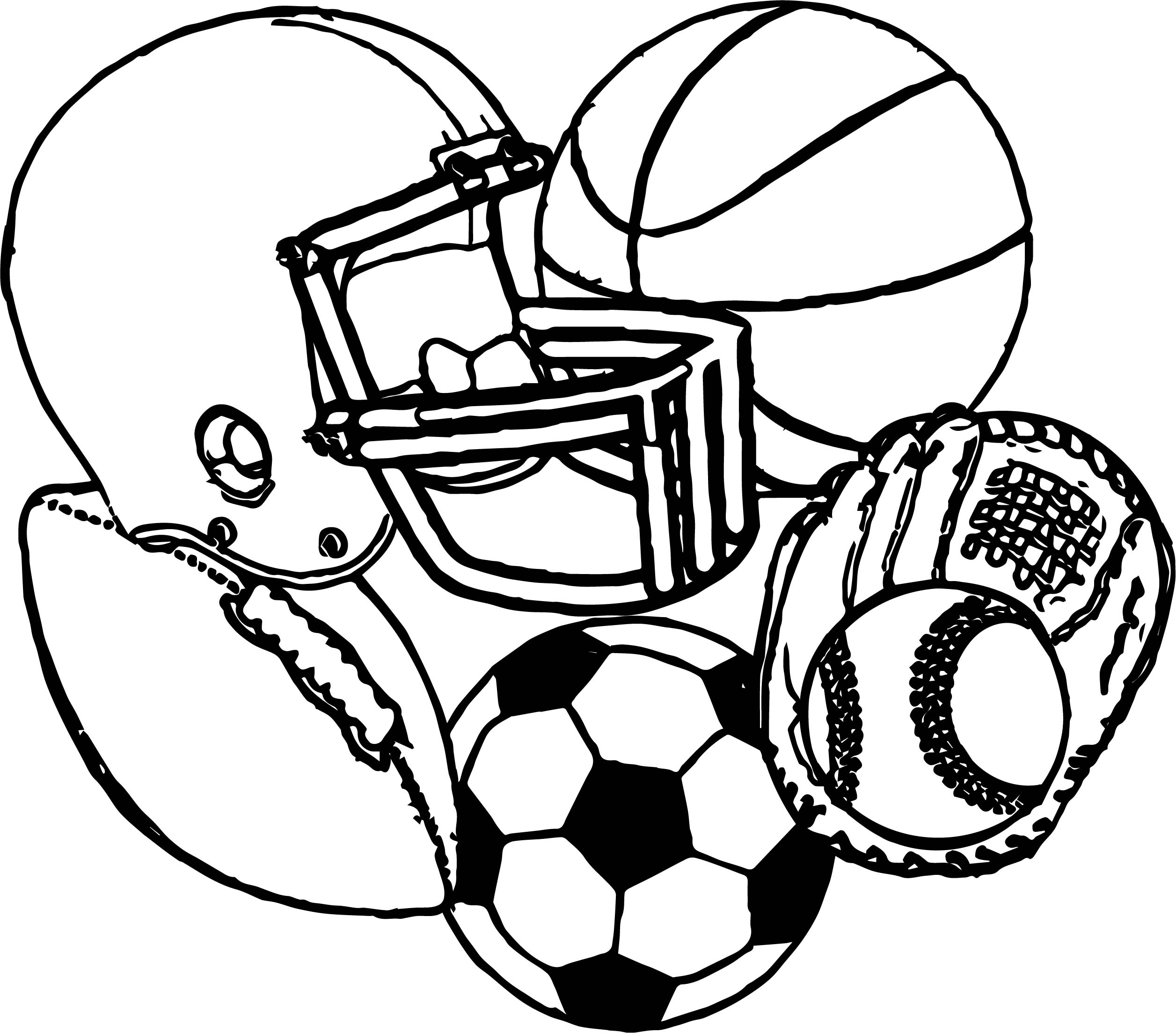 Basketball With Flames Coloring Pages Coloring Page