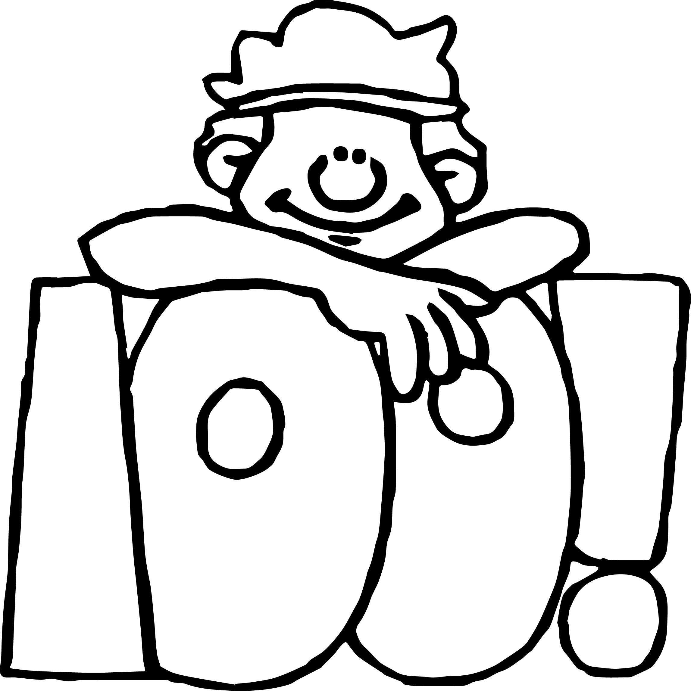 100th Day Number Coloring Page