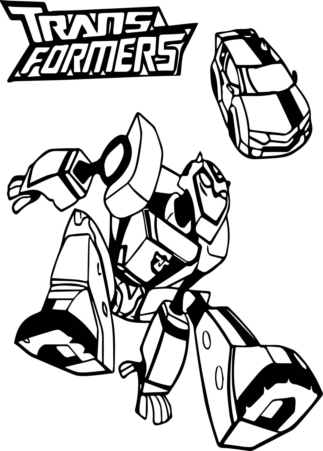Transformers Coloring Book Games Coloring Page