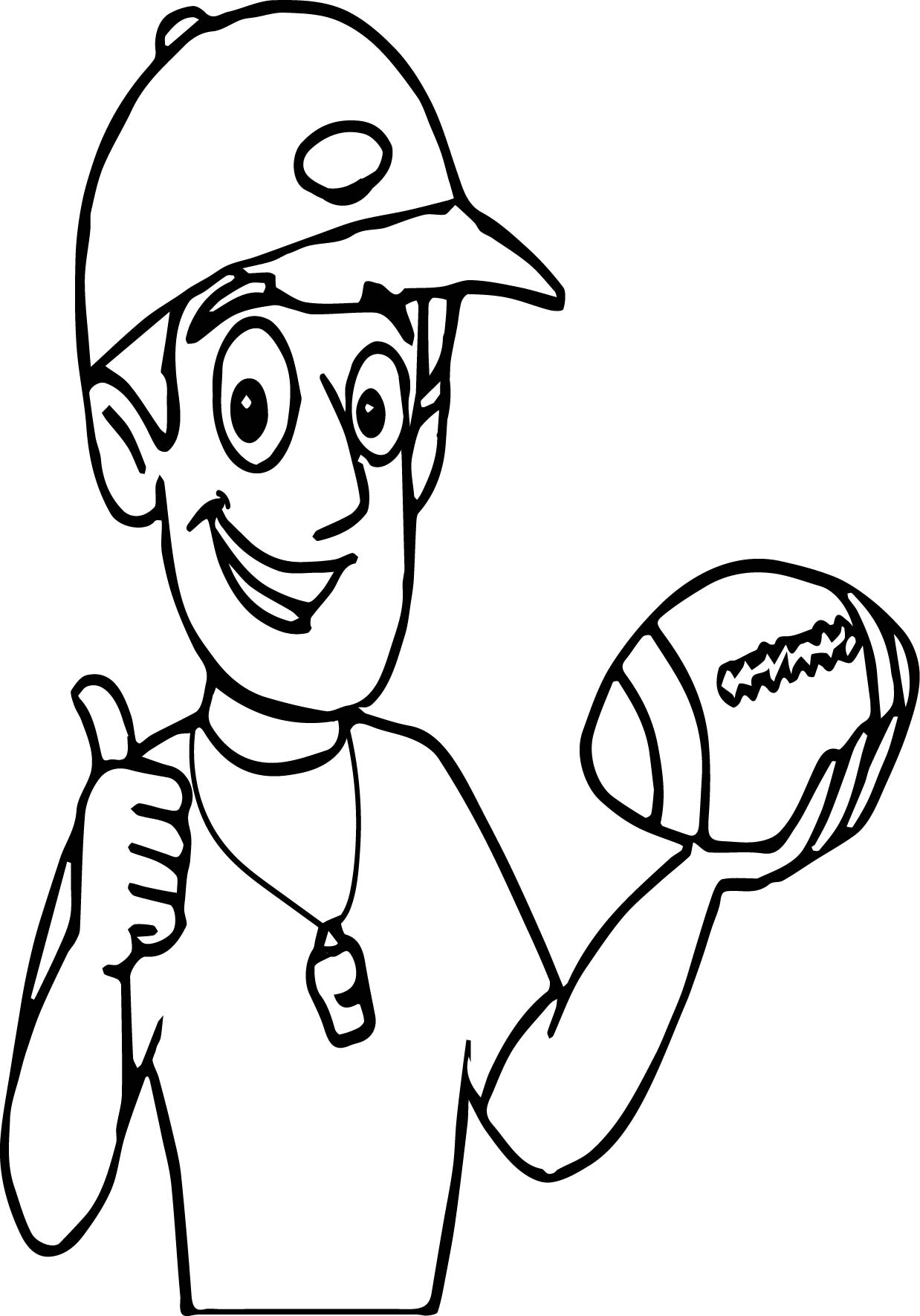 Coaches Whistle Coloring Pages Coloring Coloring Pages