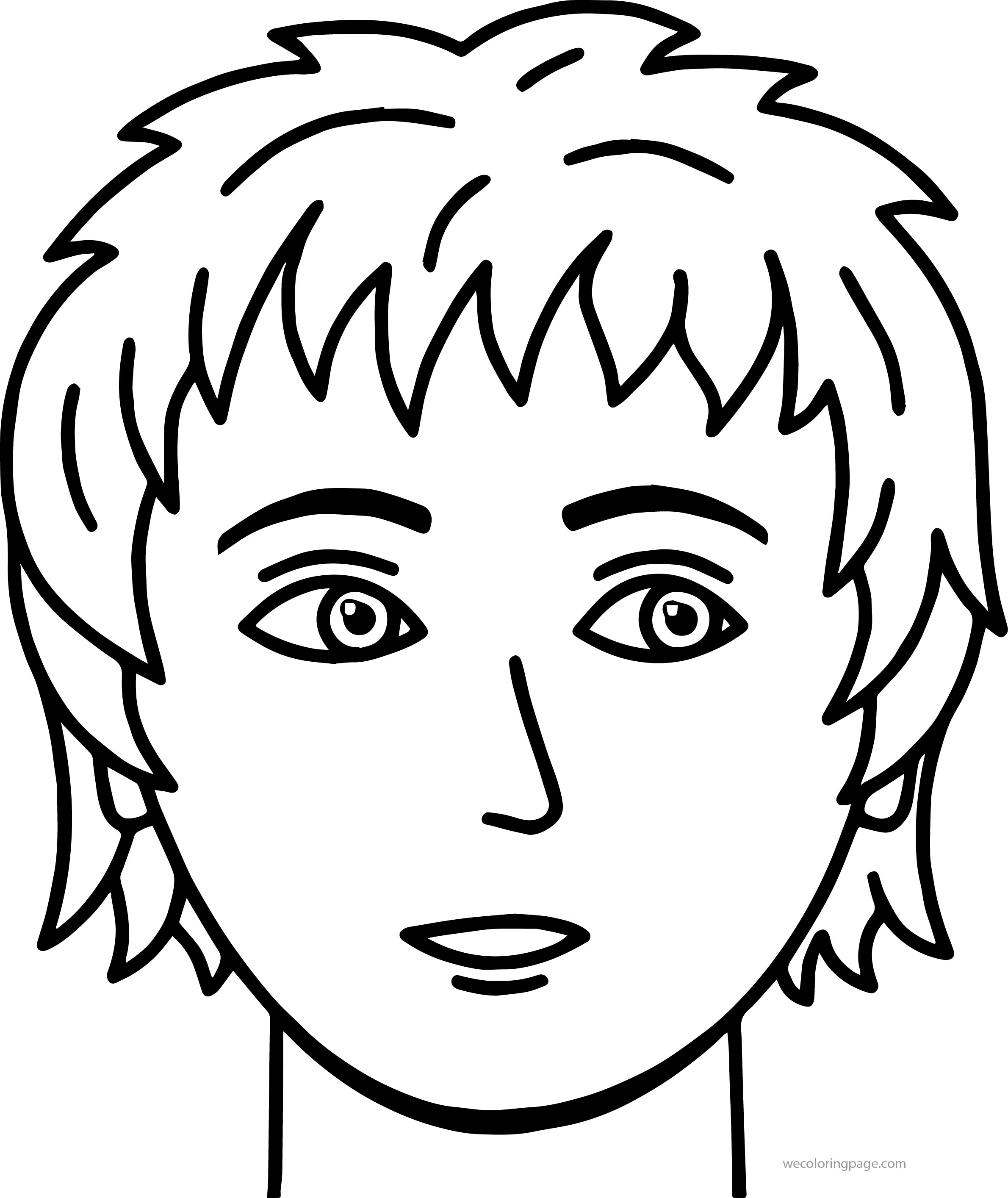 little boy face coloring pages 94 coloring page of boy