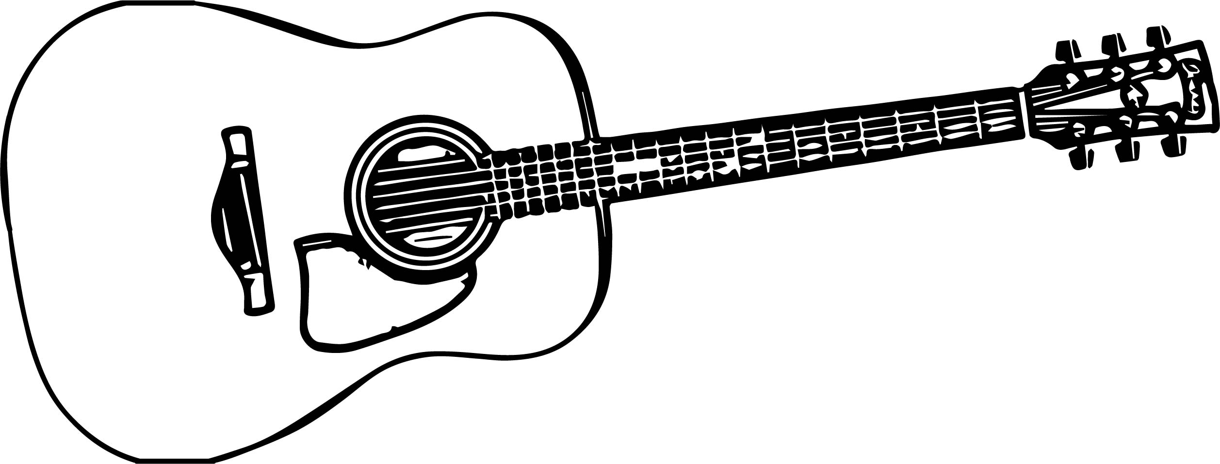 Basic Guitar Playing The Guitar Coloring Page
