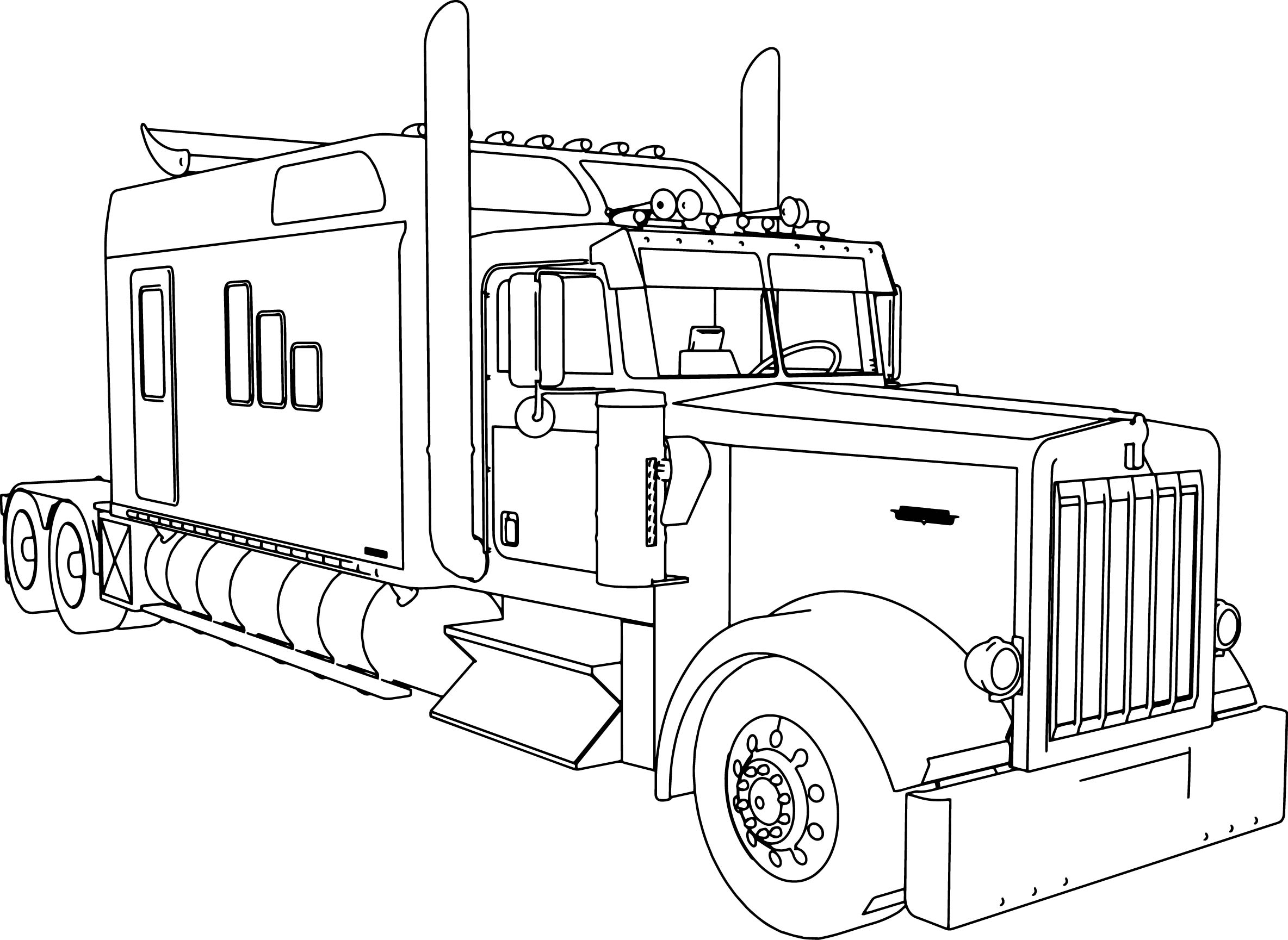 Drawing Of Kenworth T600 Related Keywords & Suggestions