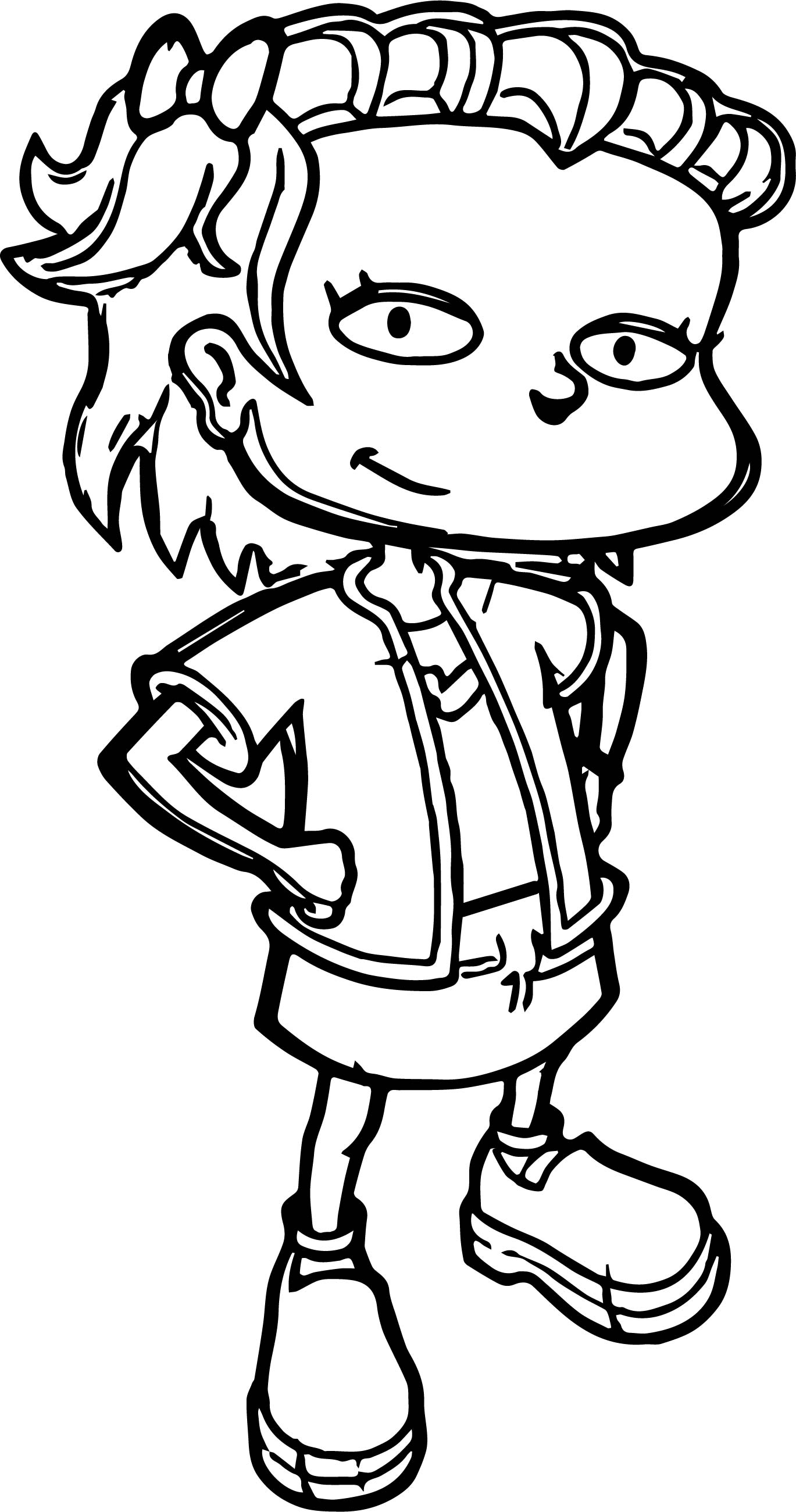 A Rugrats Vacation Coloring Pages Coloring Pages