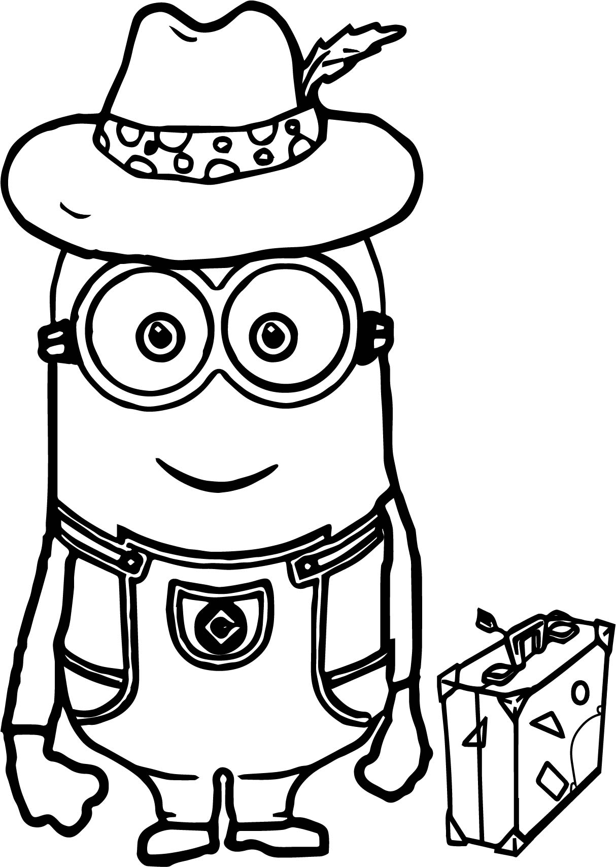 Minion Beach Coloring Pages Coloring Pages
