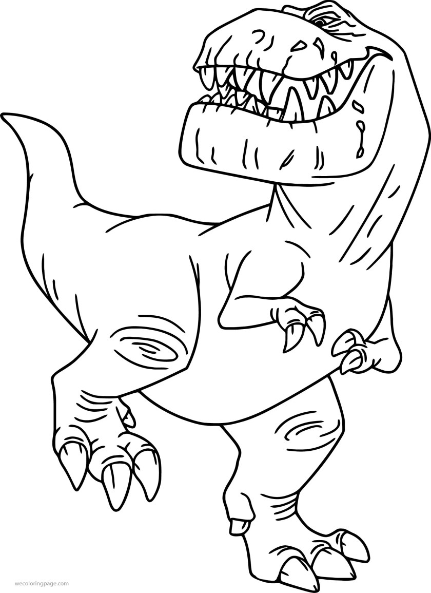 the good dinosaur disney butch cartoon coloring pages