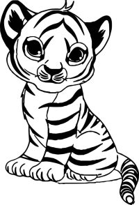 Malvorlagen Tiger Coloriage