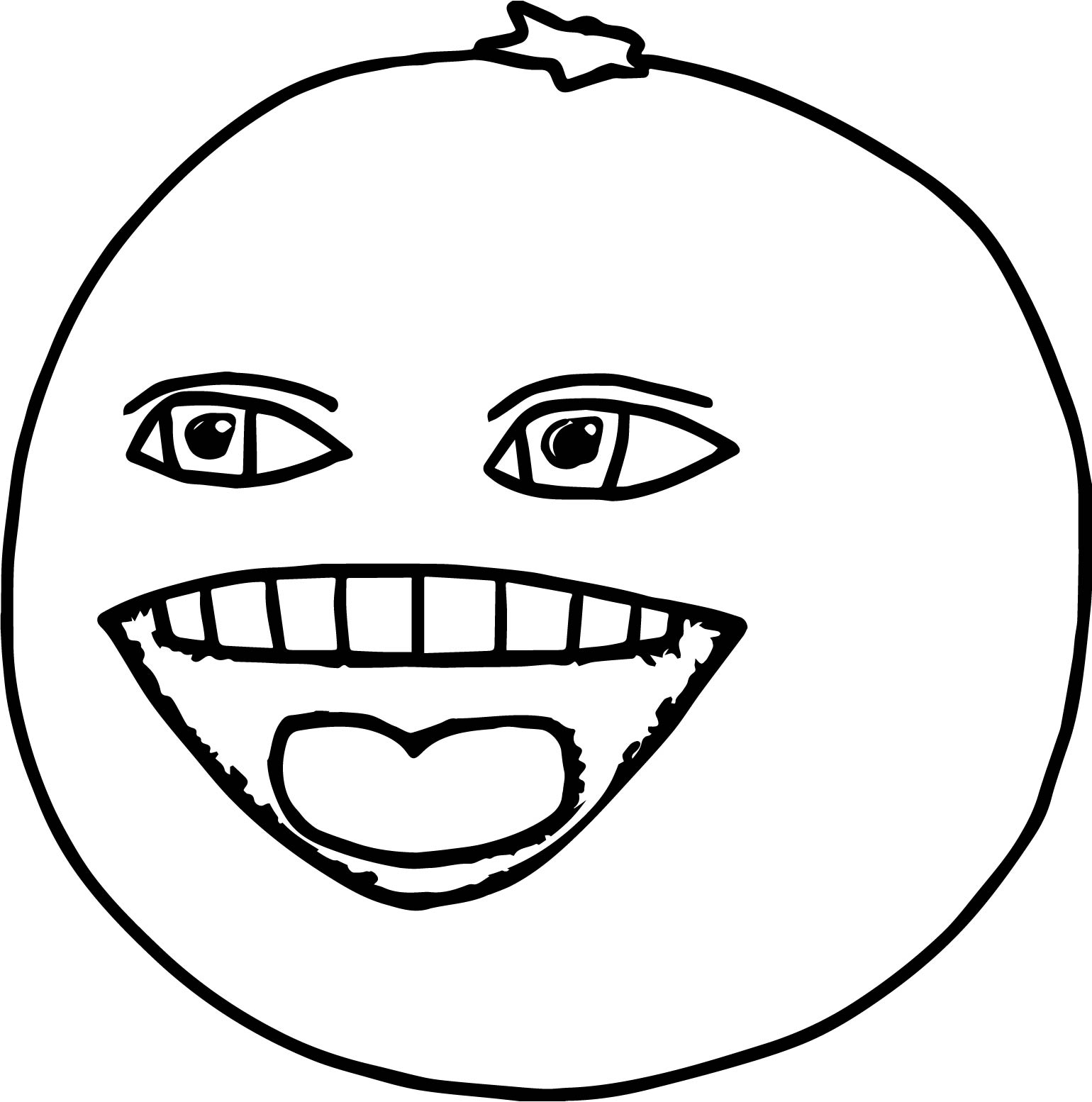Annoying Orange Coloring Pages Printable. Annoying. Best