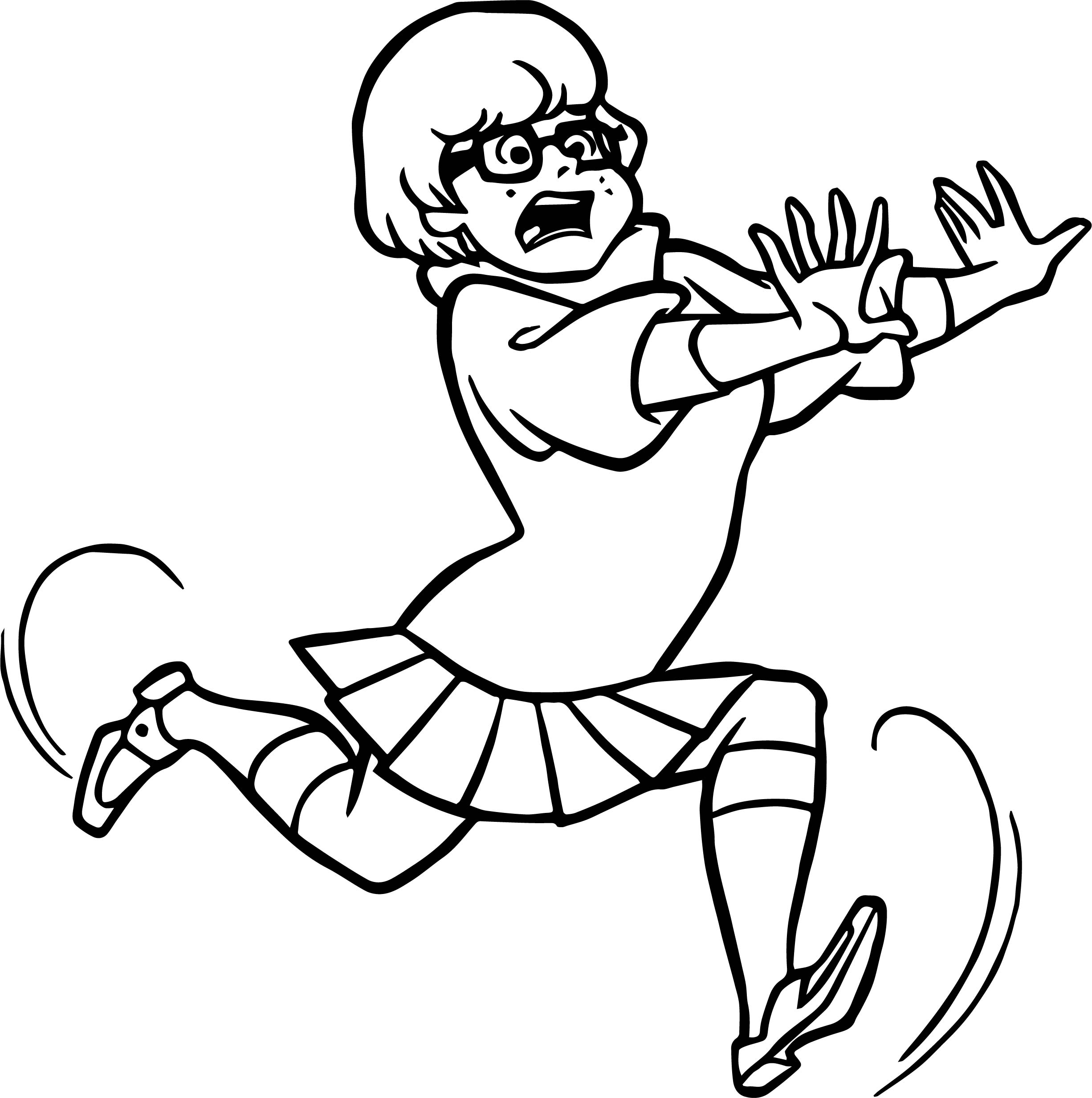 Adult Coloring Page Runner