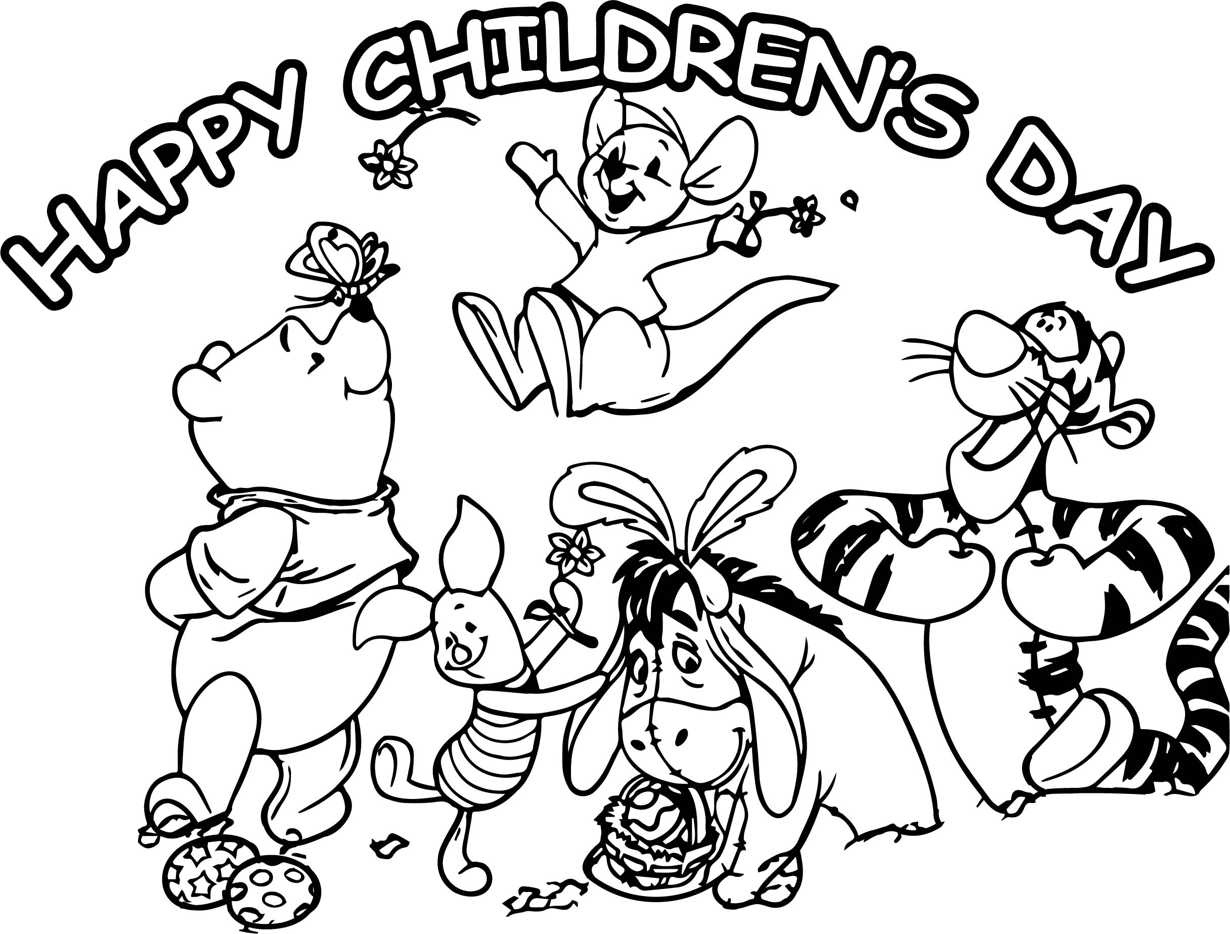 Happy Childrens Day Animal Kingdom Graphic For Share On