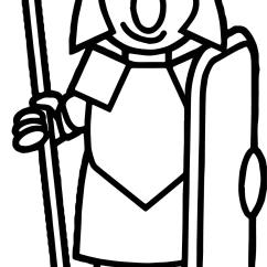 Roman Soldier Diagram 3w Led Driver Circuit Basic Coloring Page Wecoloringpage