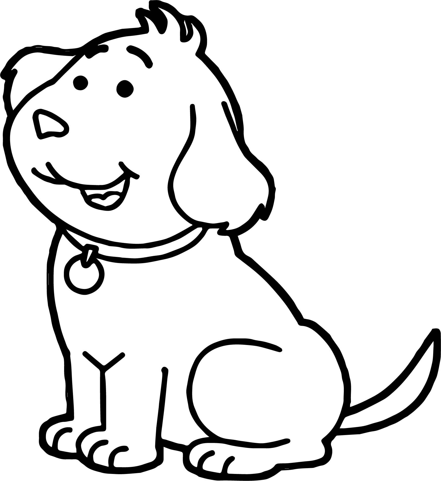 Bernese Mountain Dog Puppies Coloring Pages Sketch