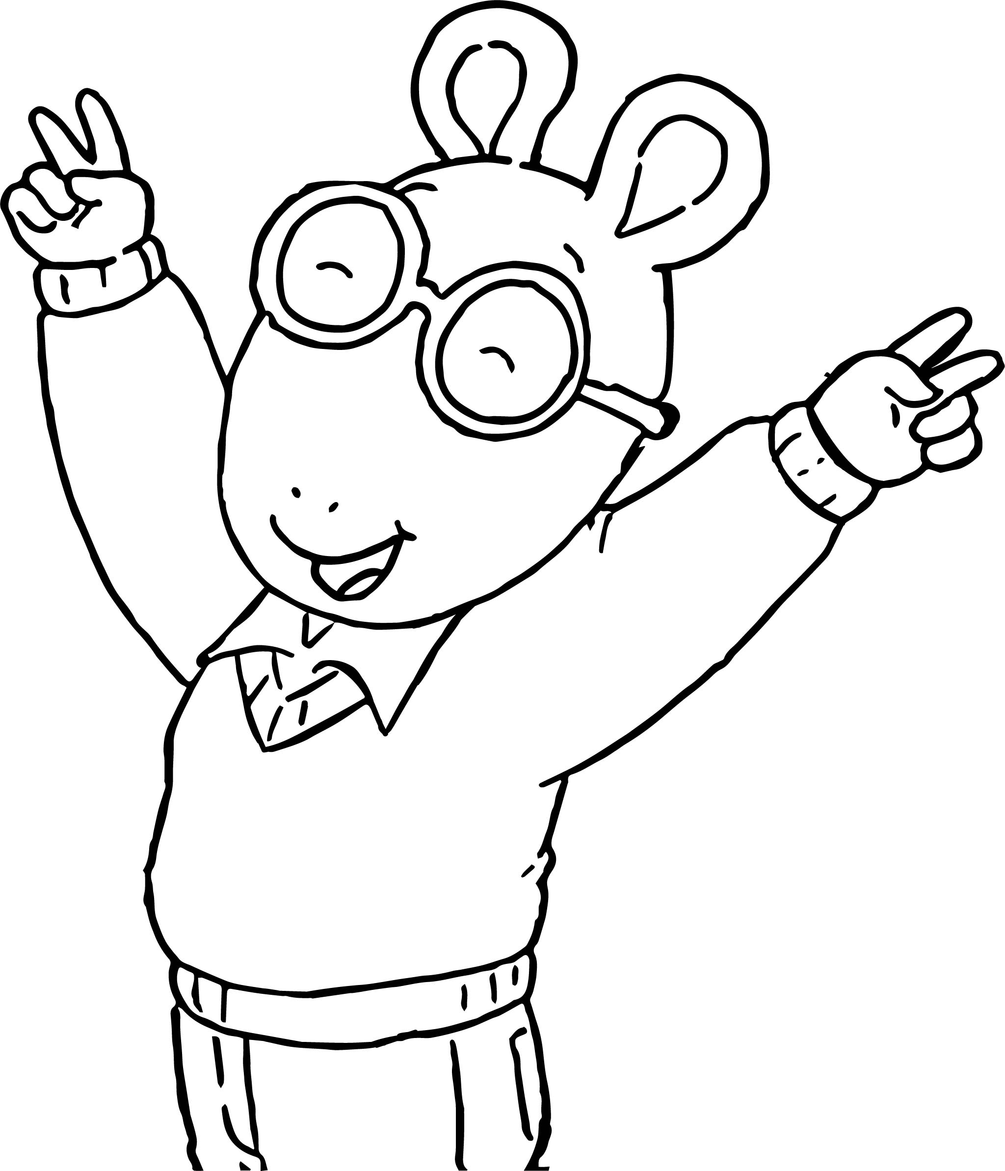 Arthur Joy Coloring Page