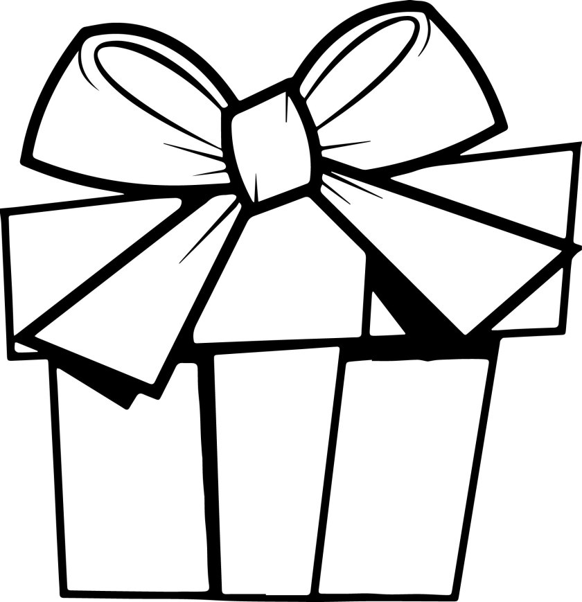 christmas gift art coloring page  wecoloringpage