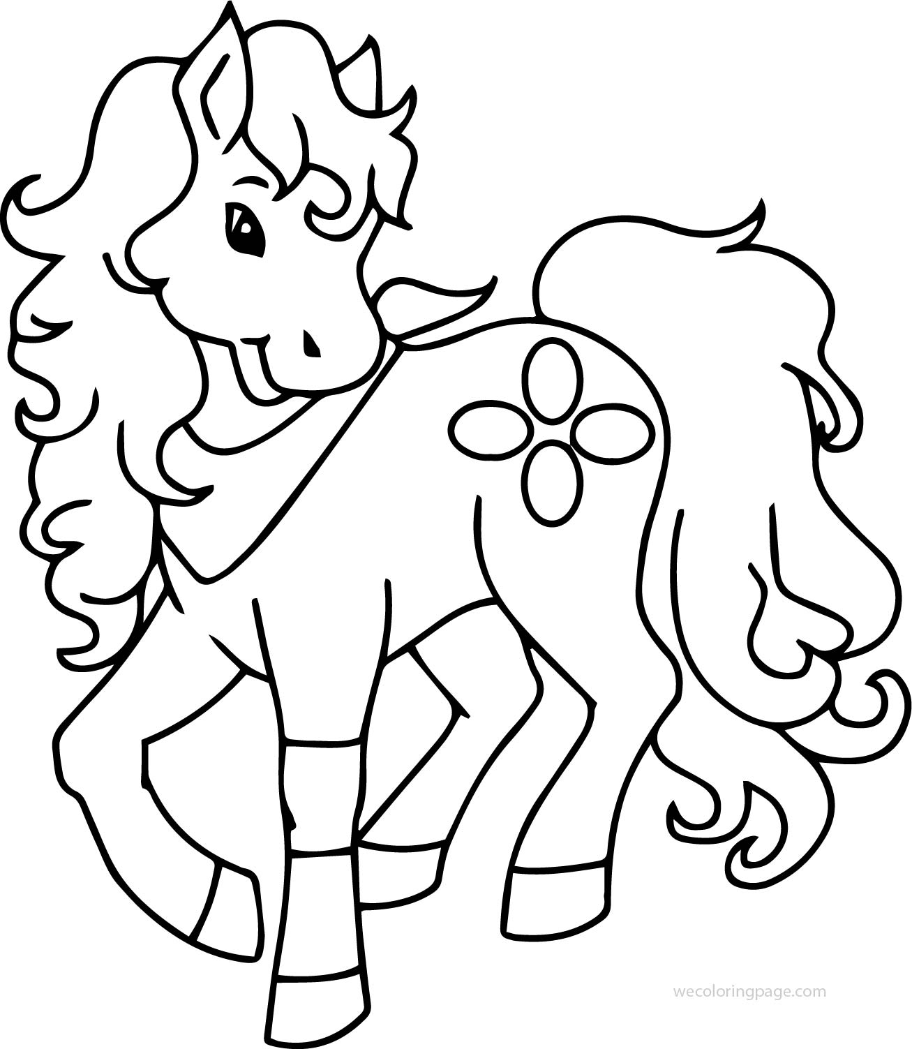 Horse Running Coloring Page.Horse Coloring Pages Running
